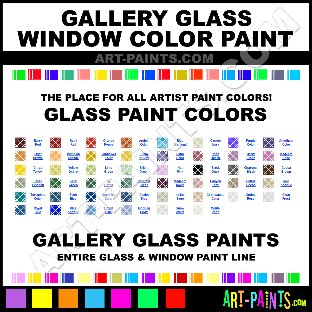 Gallery Glass Window Color Glass and Window Paint Colors ...
