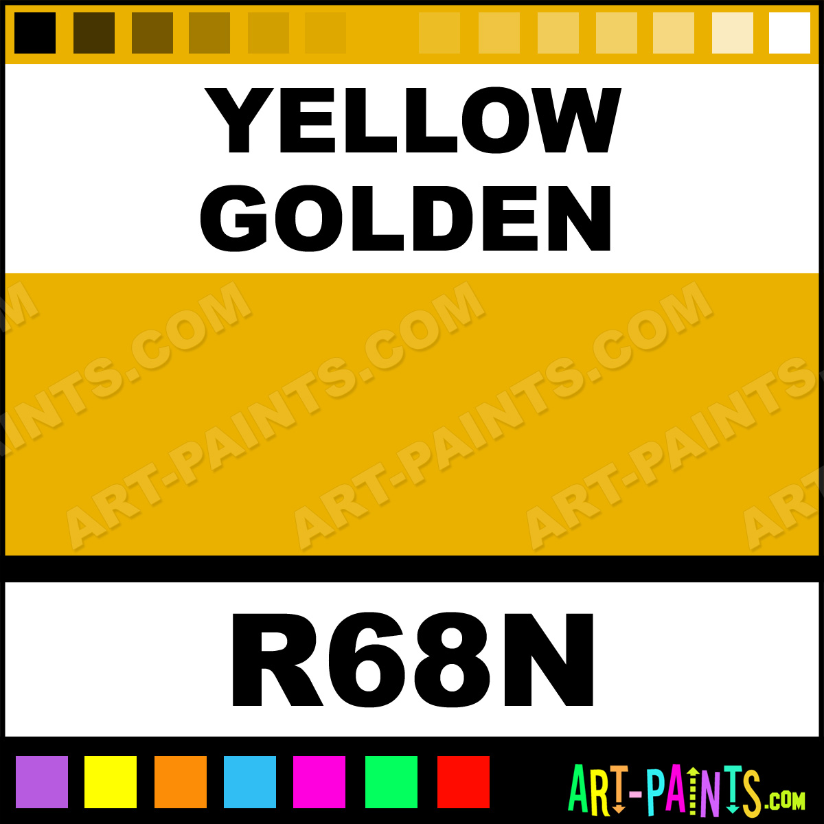 Yellow golden lacquer base stained glass and window paints for Golden yellow paint colors