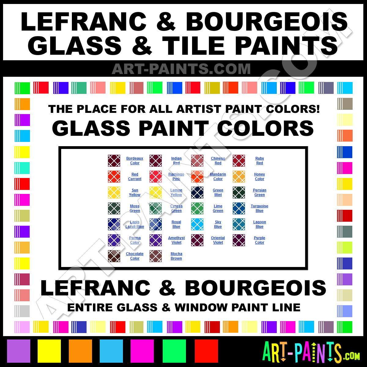 Lefranc And Bourgeois Glass And