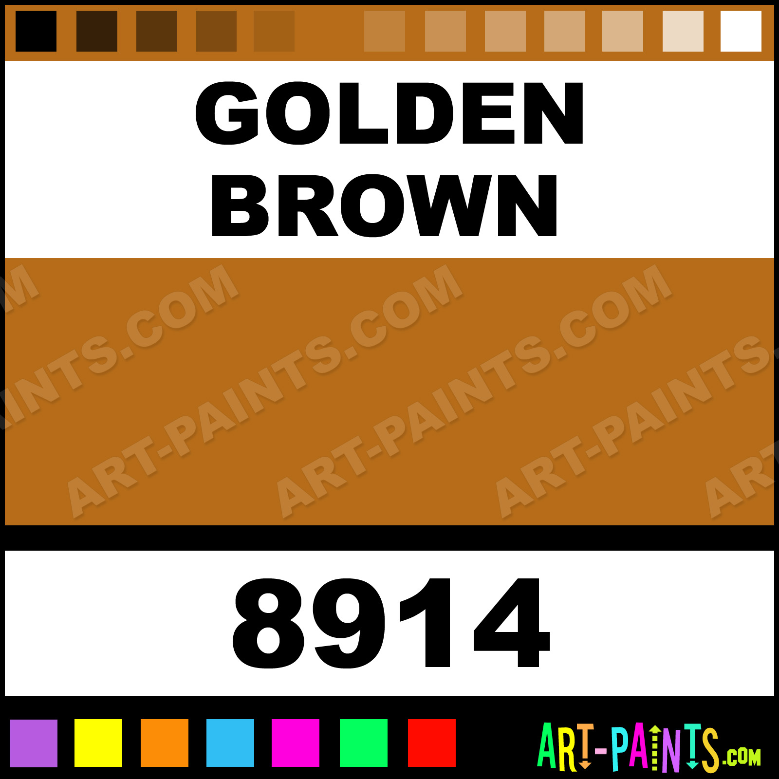 Liquitex Paints Golden Brown