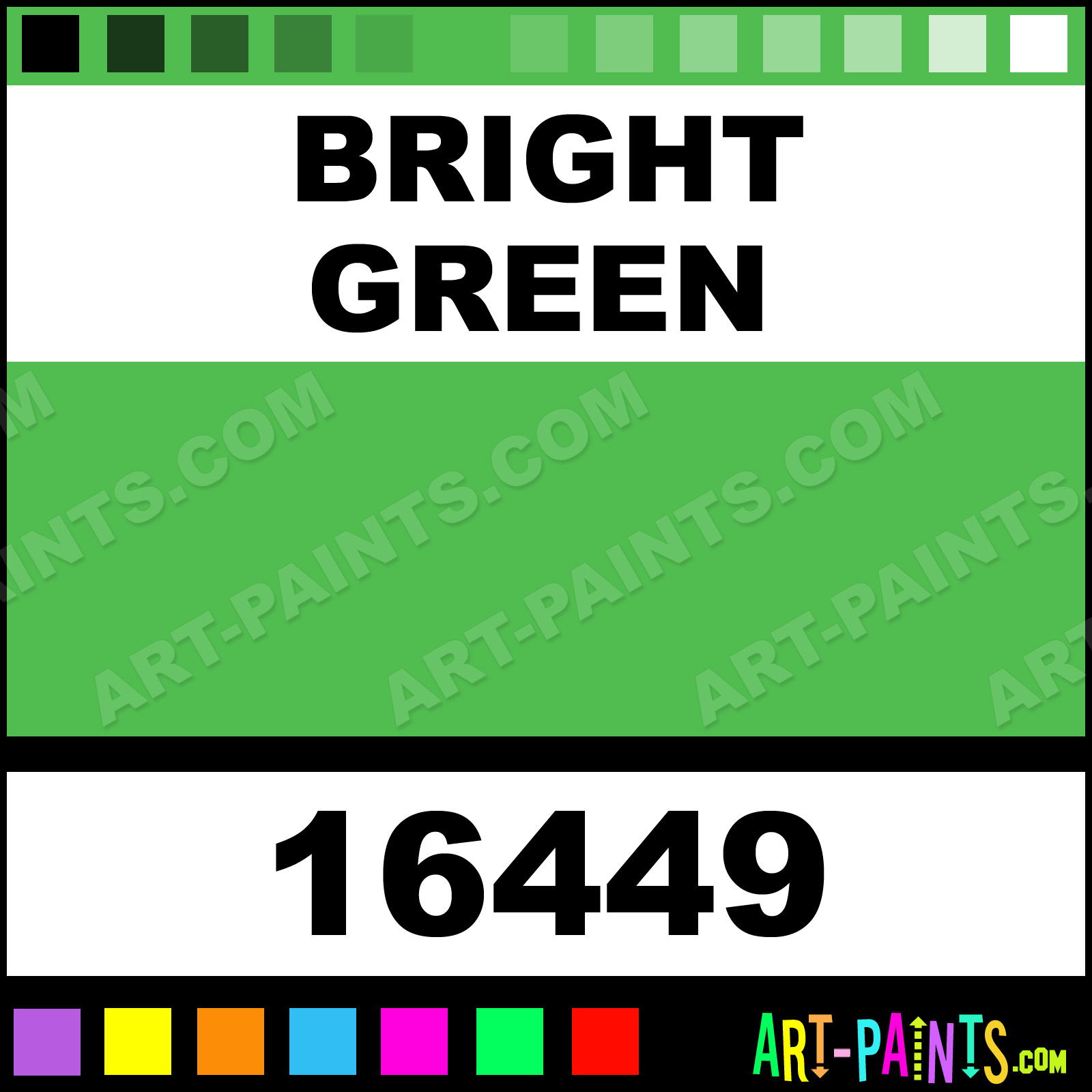 Bright Green Window Colors Stained Gl Paints 16449 Paint Color Plaid 50bc4f Art