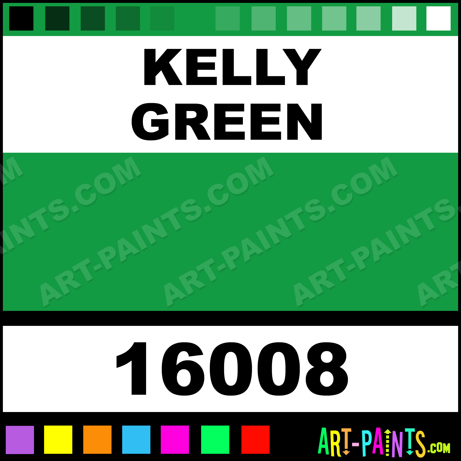 Kelly green color