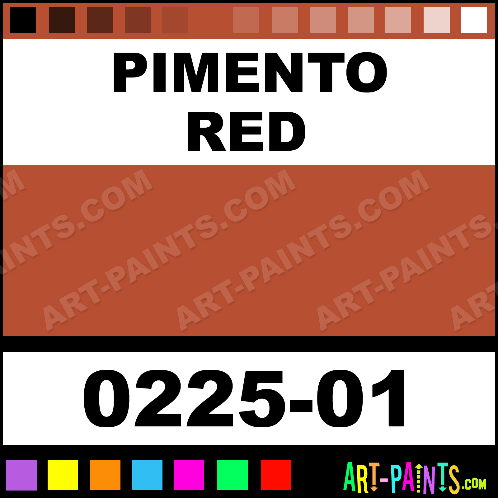 Pimento Red Paint