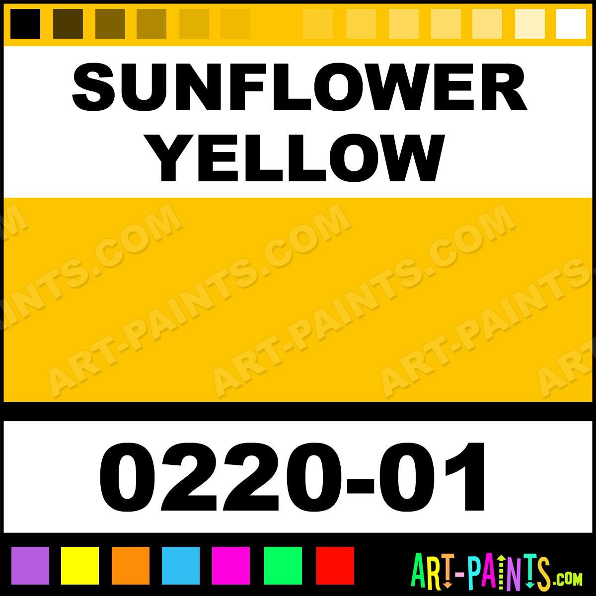 Sunflower Yellow Spray Paint