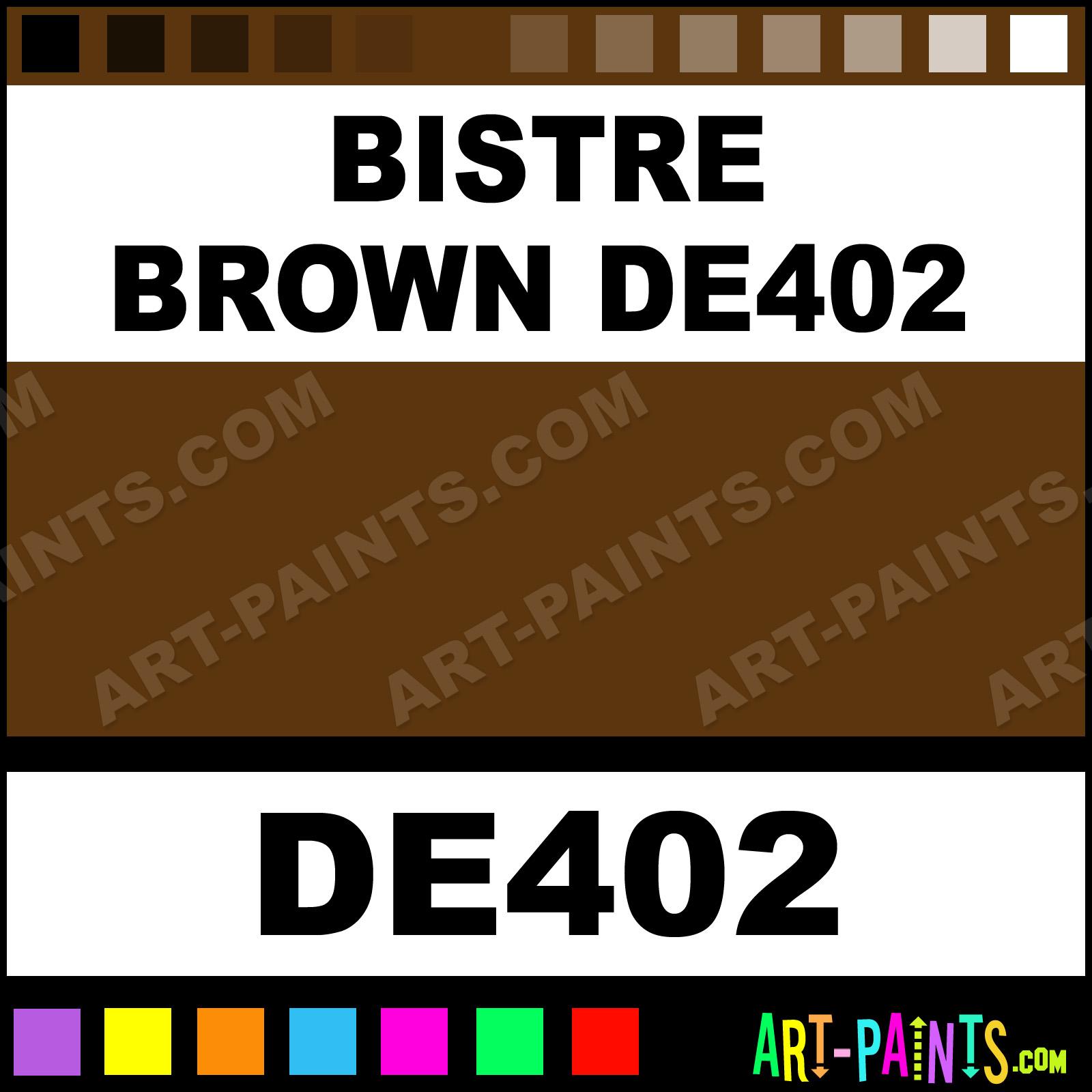 Bistre Brown Color - 0425