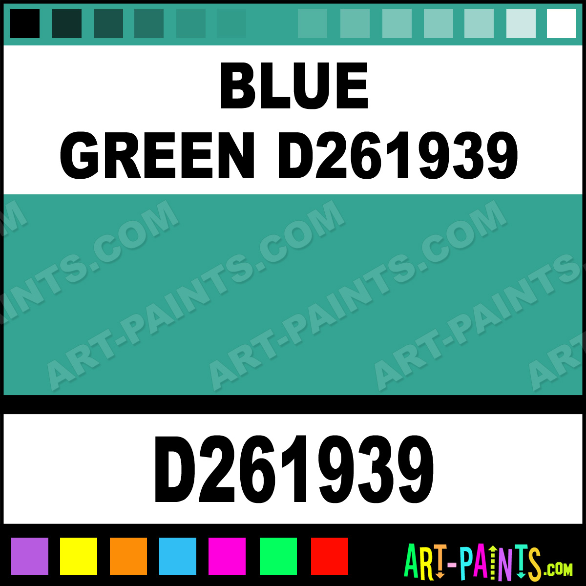 Blue Green D261939 Reusche Stained Glass And Window Paints Inks And Stains D261939 Blue