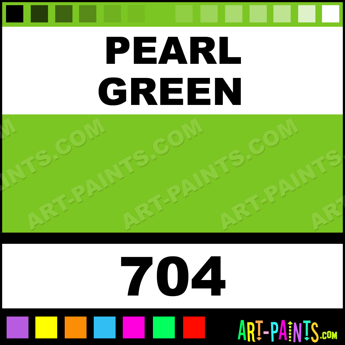 Pearl Green Air Opaque Glitter Sparkle Shimmer Metallic Pearlescent Iridescent Paints 704 Paint Color Badger
