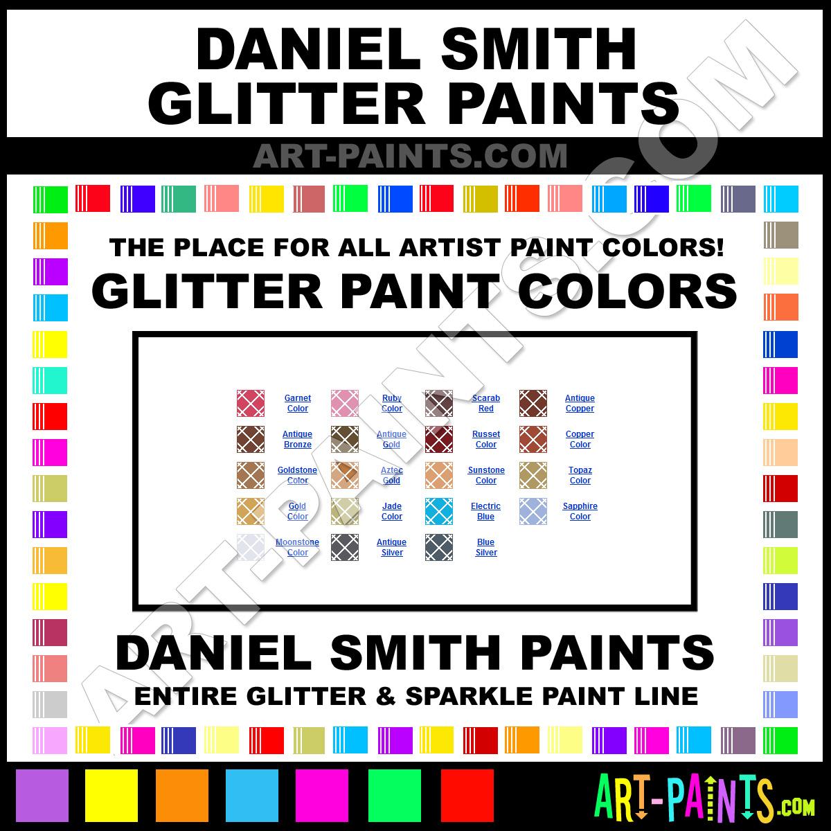 daniel smith glitter paint brands daniel smith paint