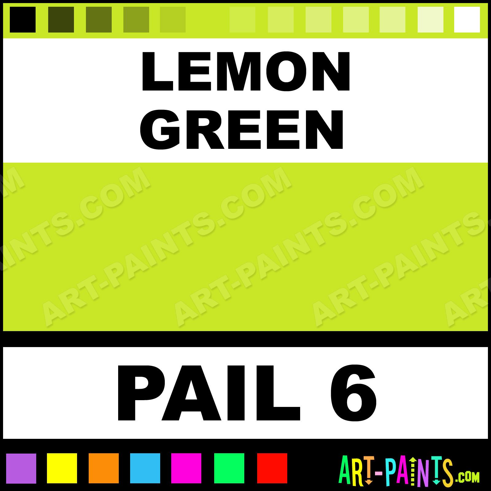 Lemon Green Paint