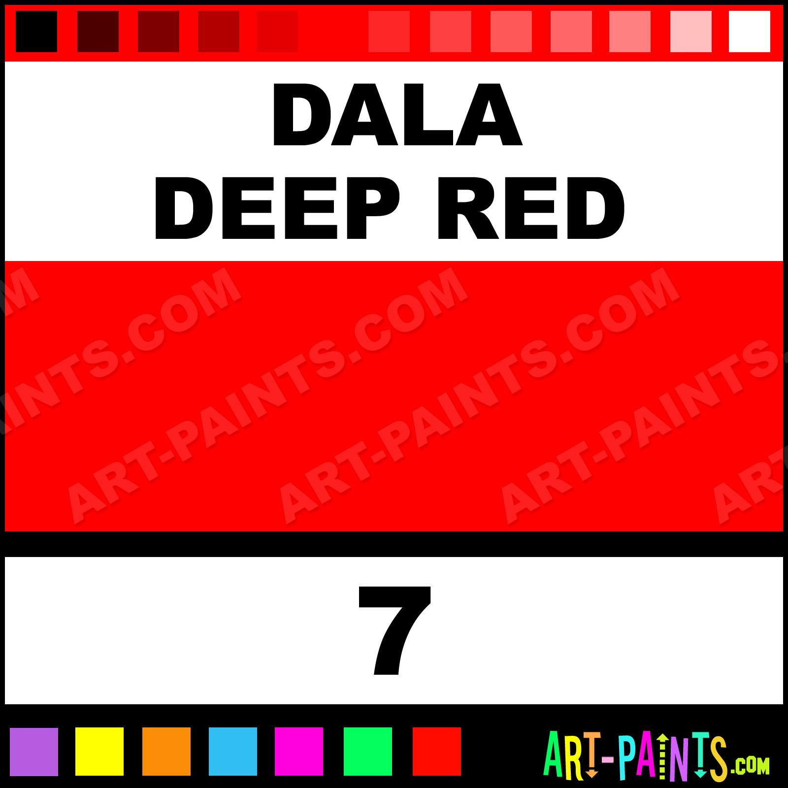 Dala Paints Deep Red