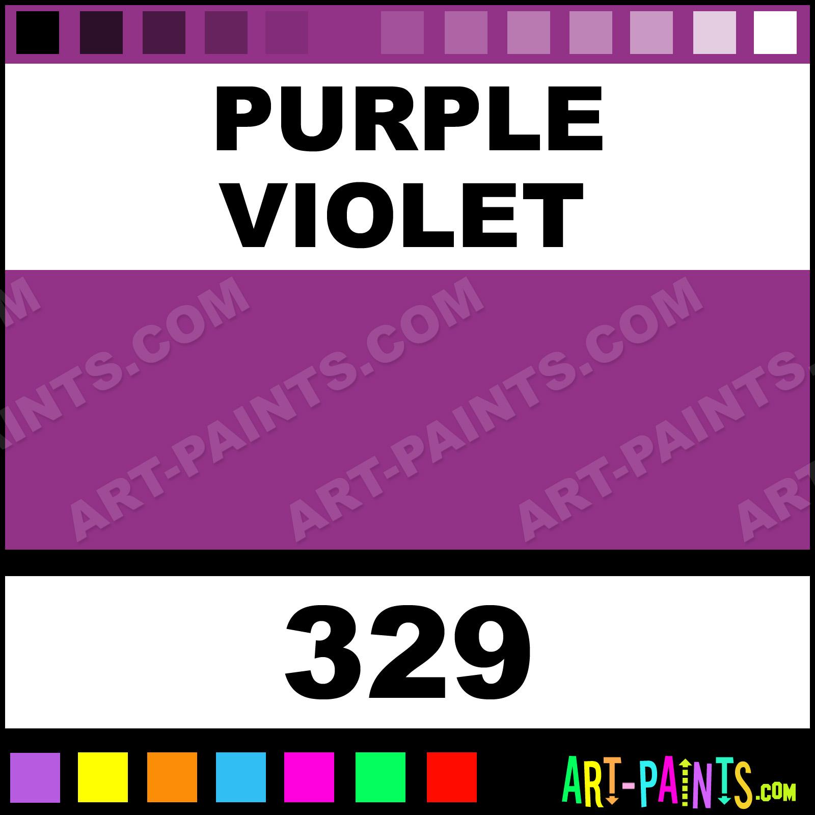 Purple Violet Designers Gouache Paints - 329 - Purple Violet