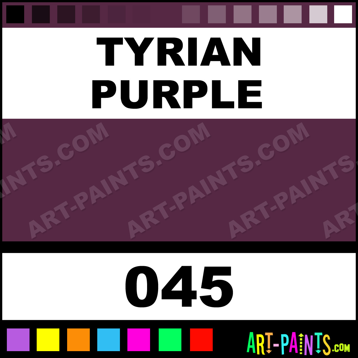 tyrian purple antique gouache paints 045 tyrian purple paint
