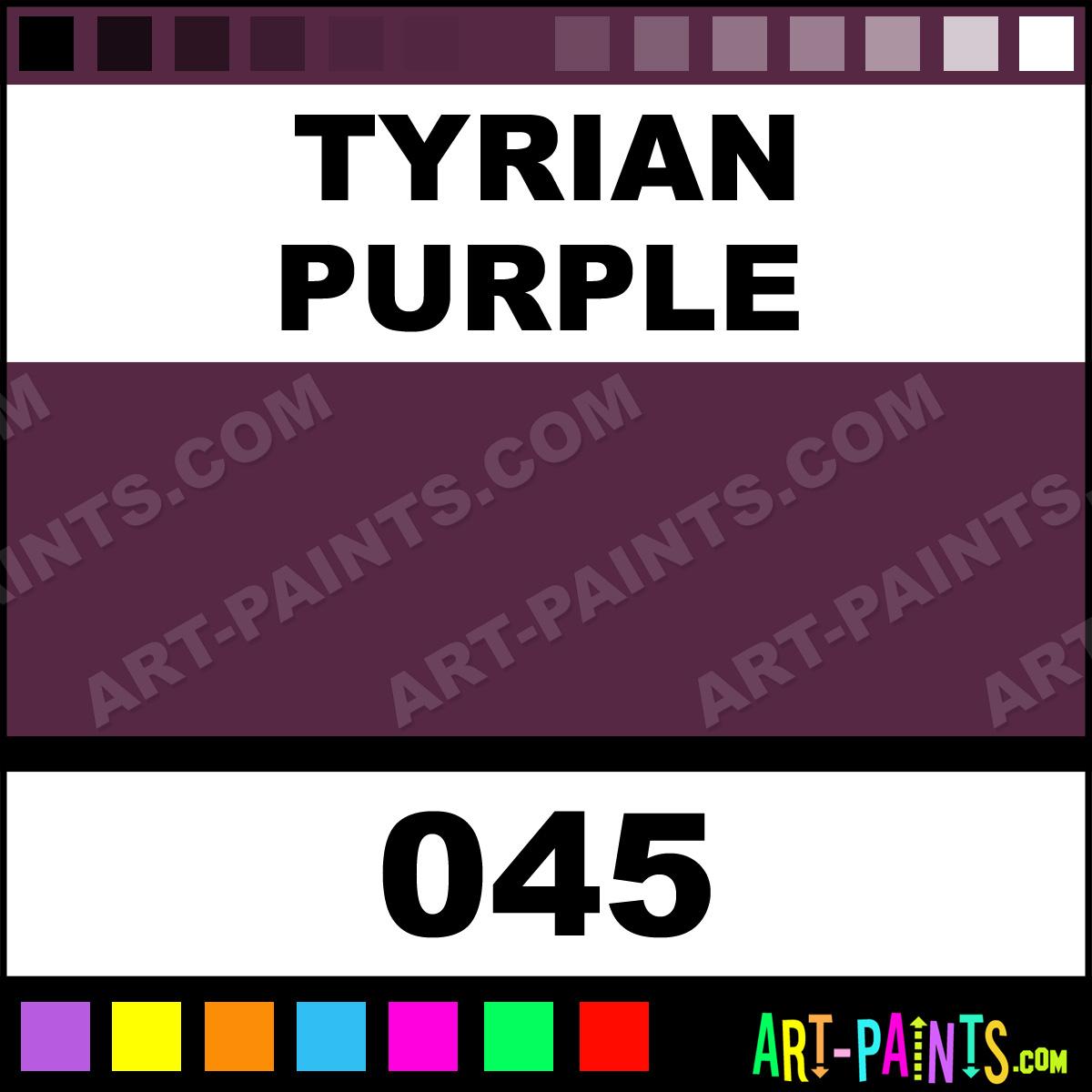 tyrian purple antique gouache paints 045 tyrian purple