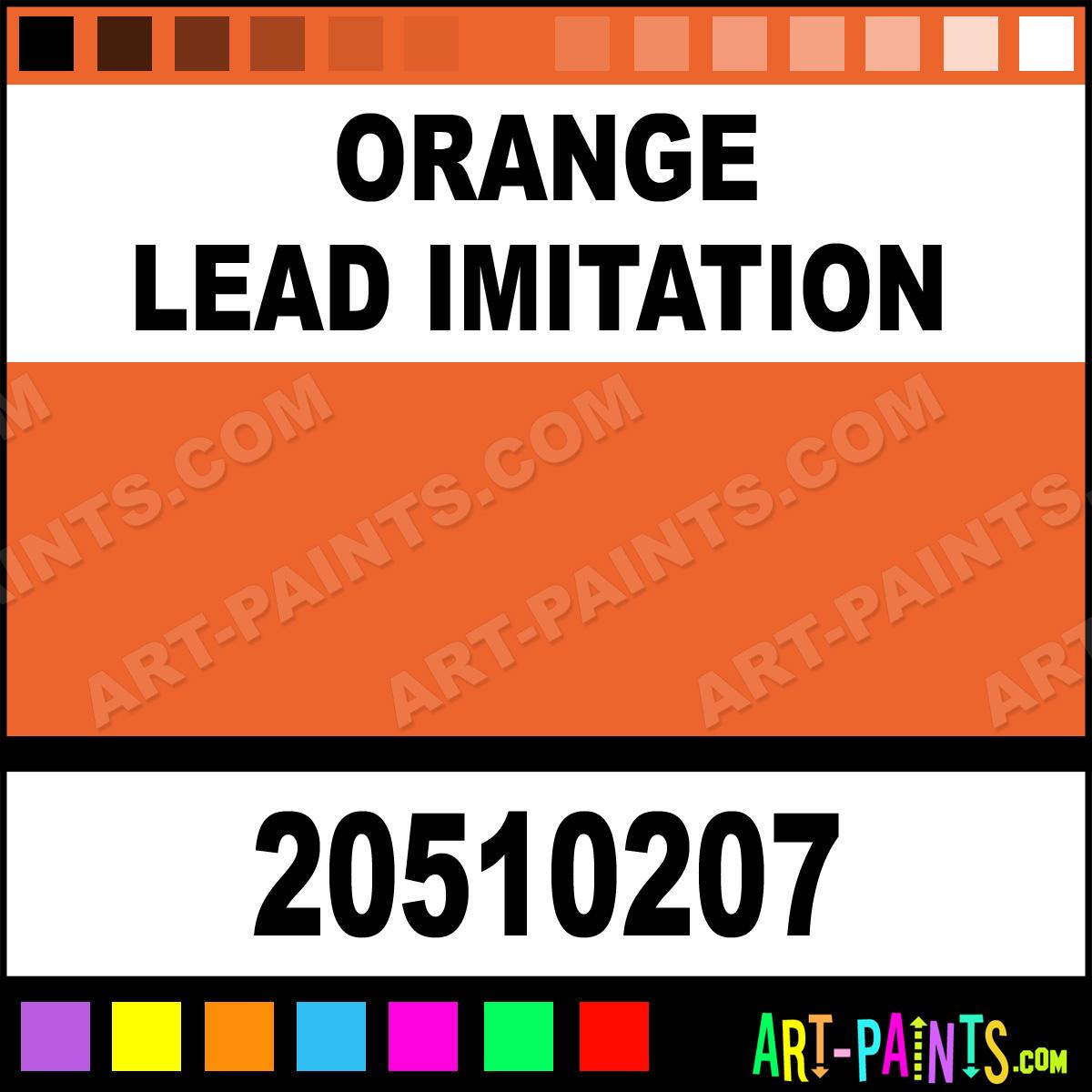 gouache paints 20510207 orange lead imitation paint orange lead. Black Bedroom Furniture Sets. Home Design Ideas