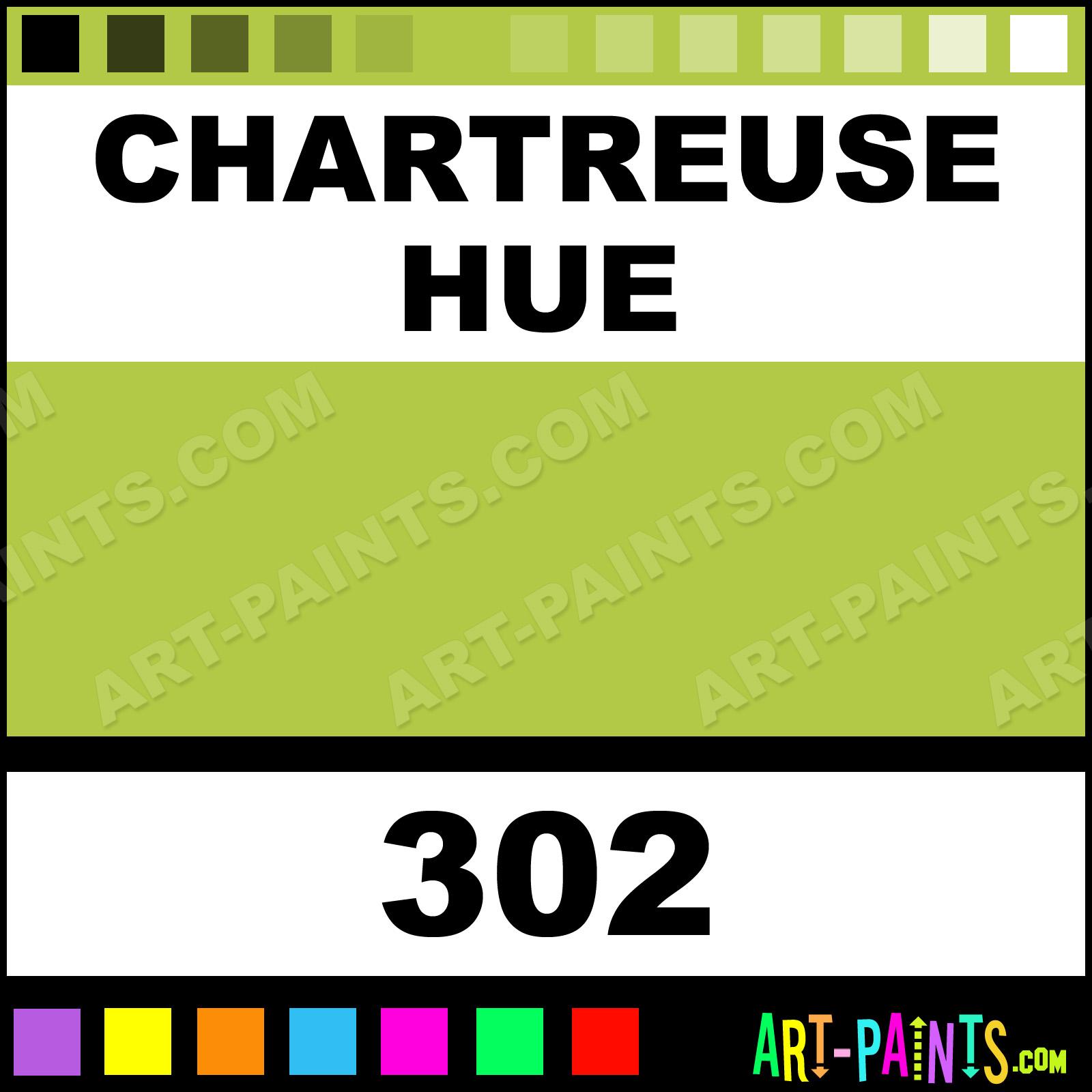 Chartreuse Extra Fine T7 Gouache Paints 302 Chartreuse Paint