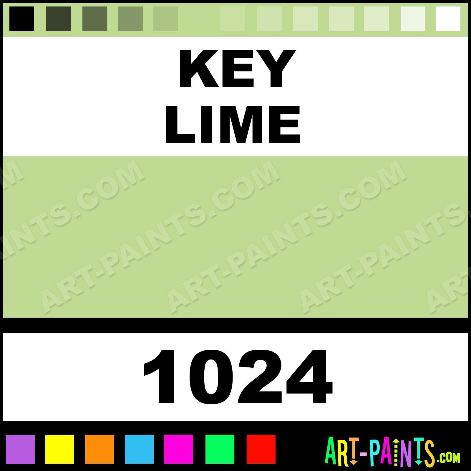 Key Lime Paint