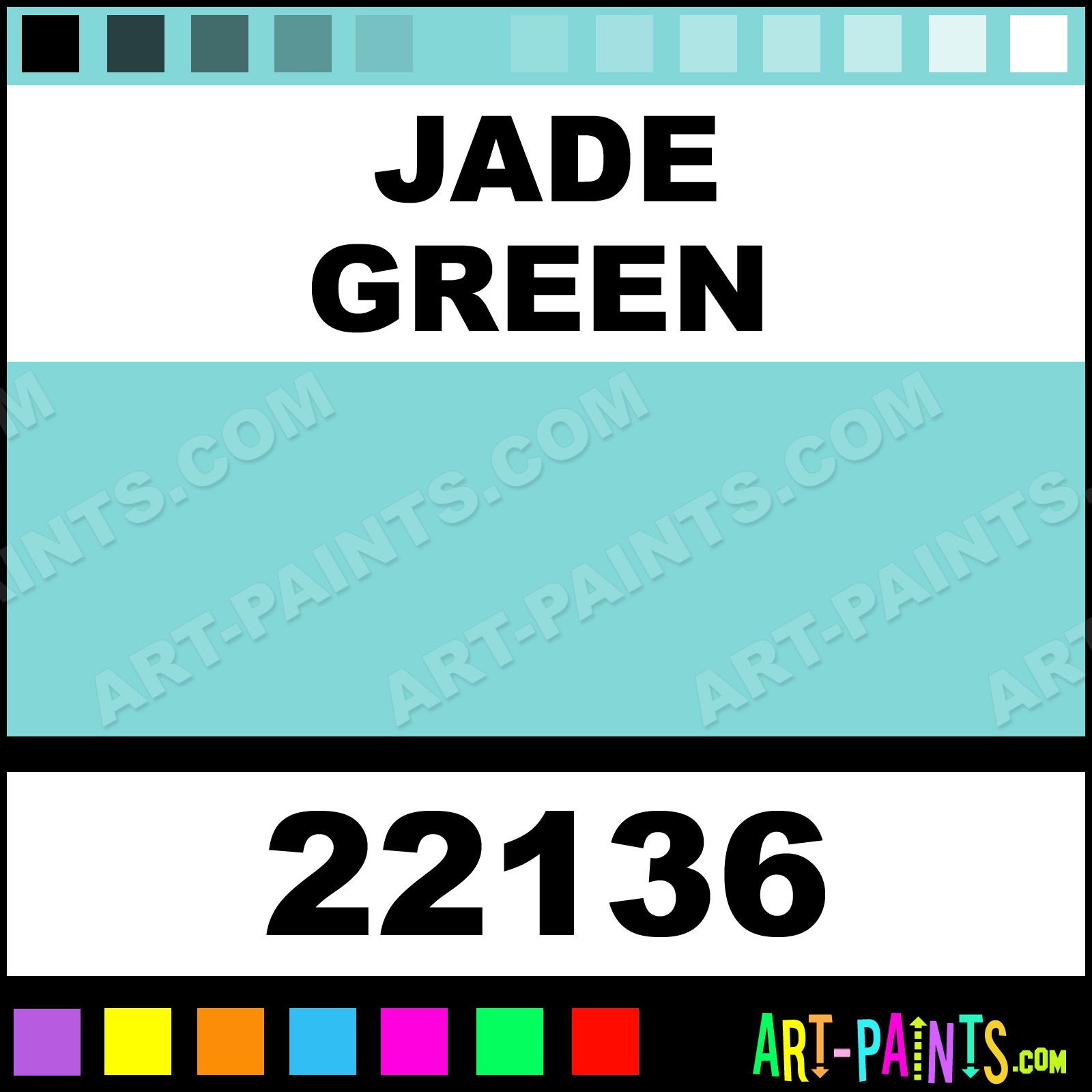 Caran D Ache Paints Jade Green Fibralo Paint Markers