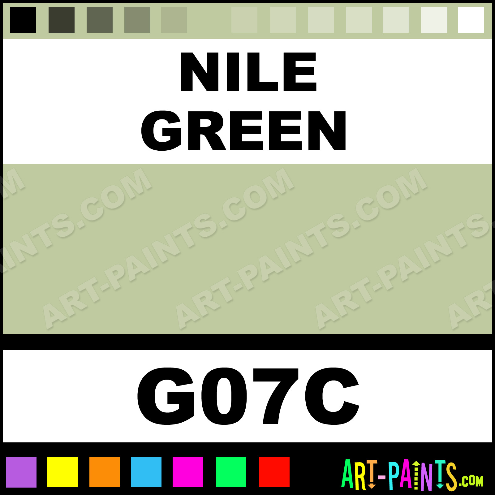 Nile Green Original Paintmarker Marking Pen Paints G07c Nile Green Paint Nile Green Color