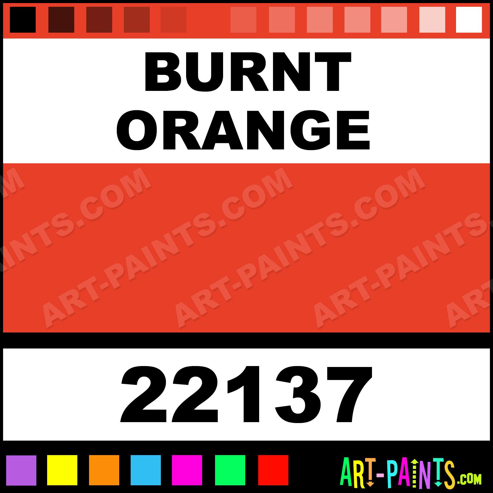 Burnt Orange Art Markers Paintmarker Paints and Marking Pens