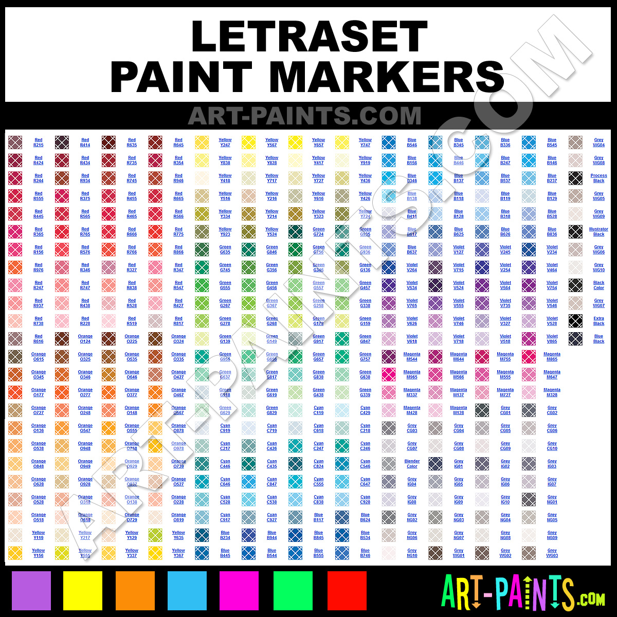Letraset paint marker paint brands and marking pens letraset letraset nvjuhfo Choice Image