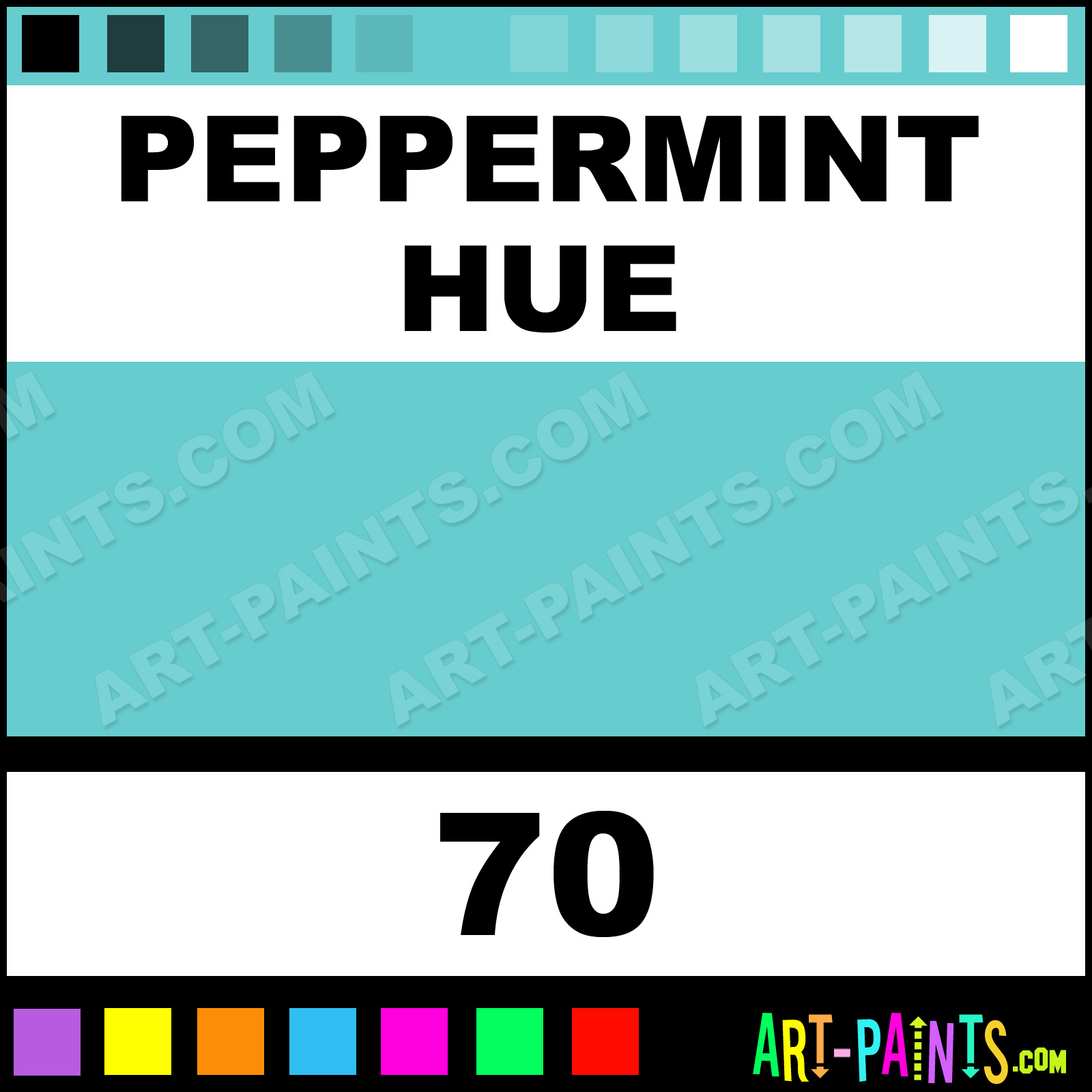 Peppermint Decocolor Broad Paintmarker Marking Pen Paints