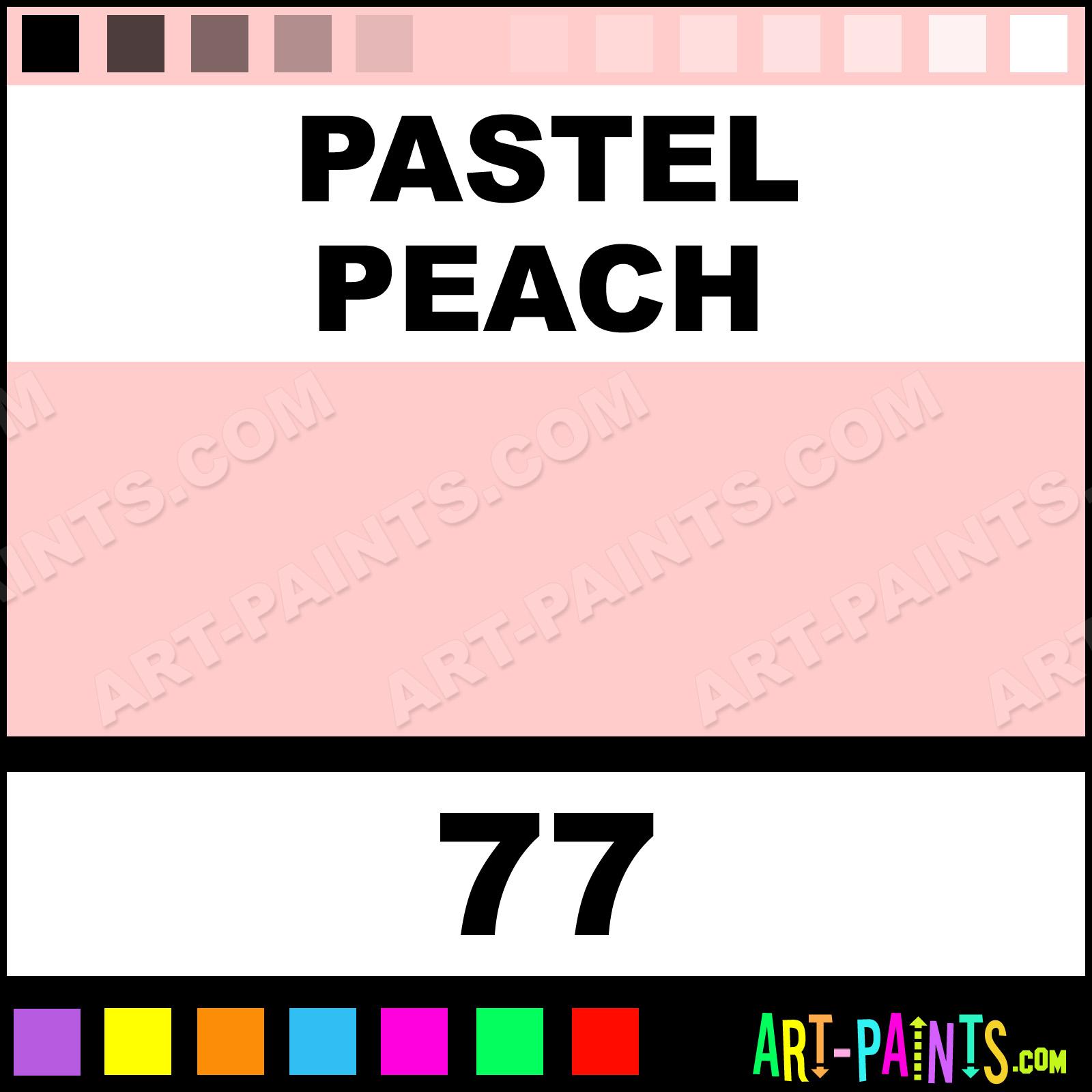 Pastel peach decocolor fine paintmarker marking pen paints - How to make peach color paint ...