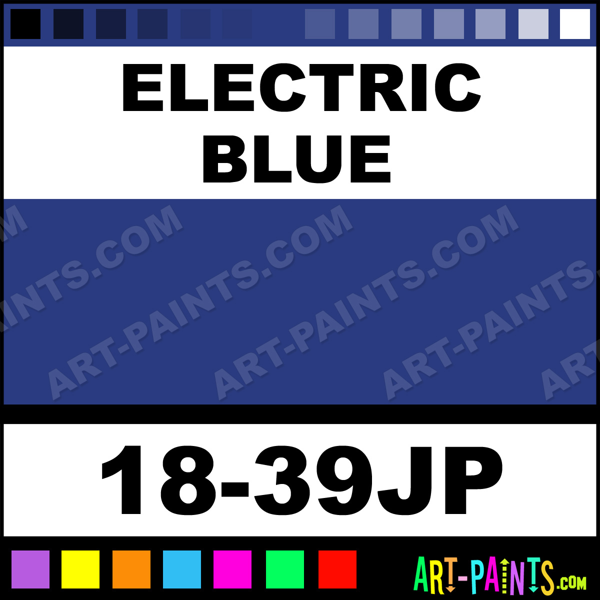 Electric Blue Universe Twin Paintmarker Paints And Marking