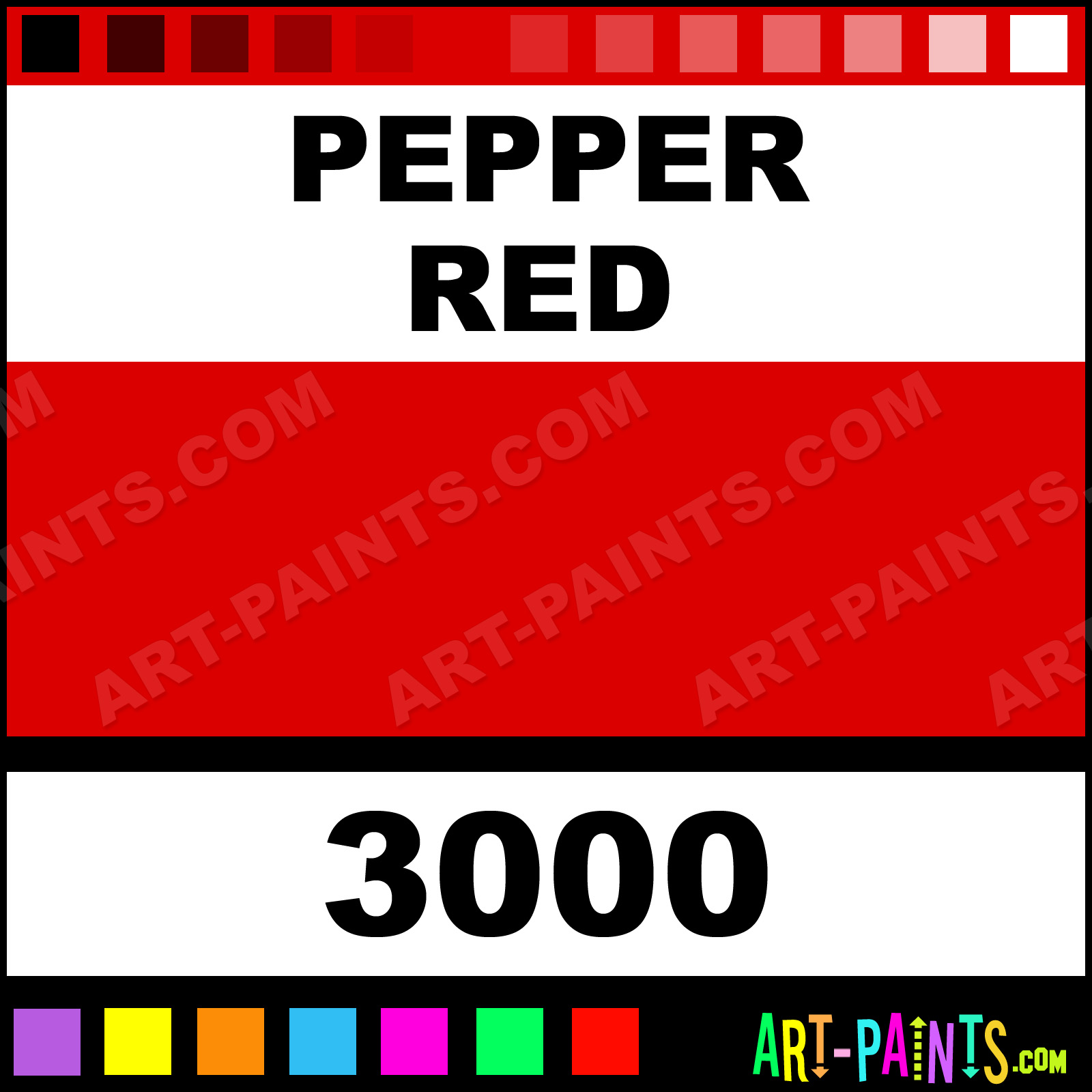 Pepper Red Paint