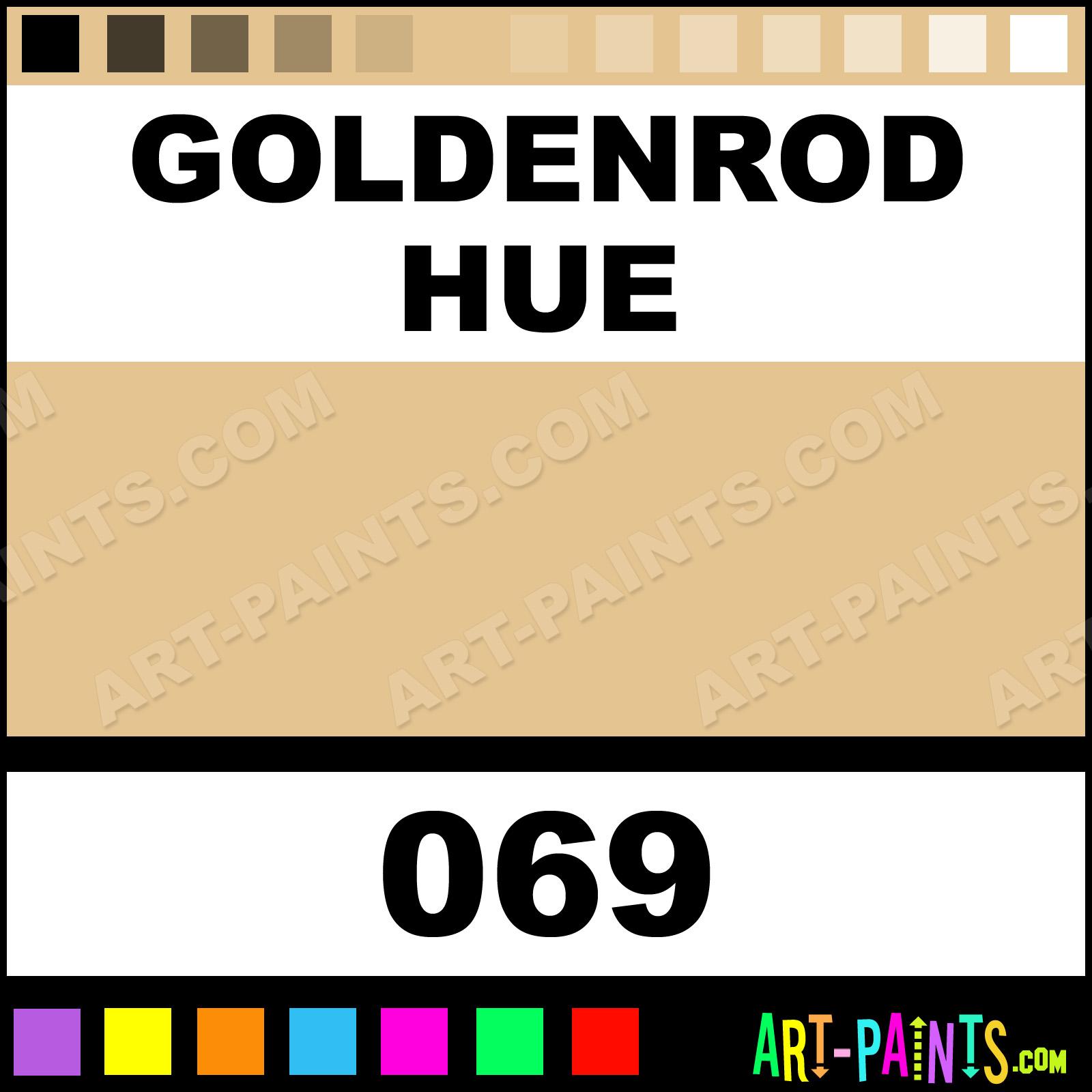 Goldenrod color