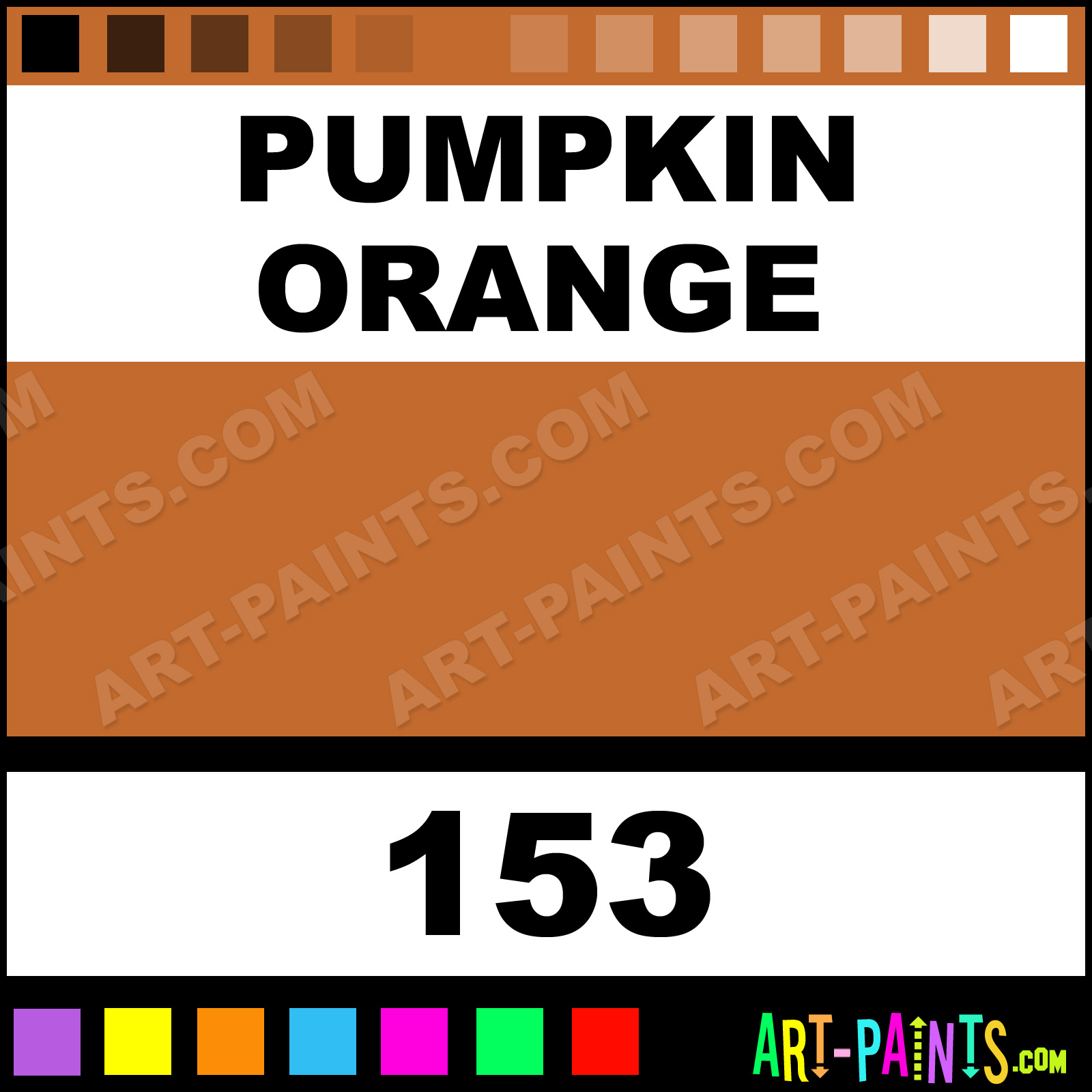 Pumpkin Orange Paint pumpkin orange four-in-one paintmarker marking pen paints - 153