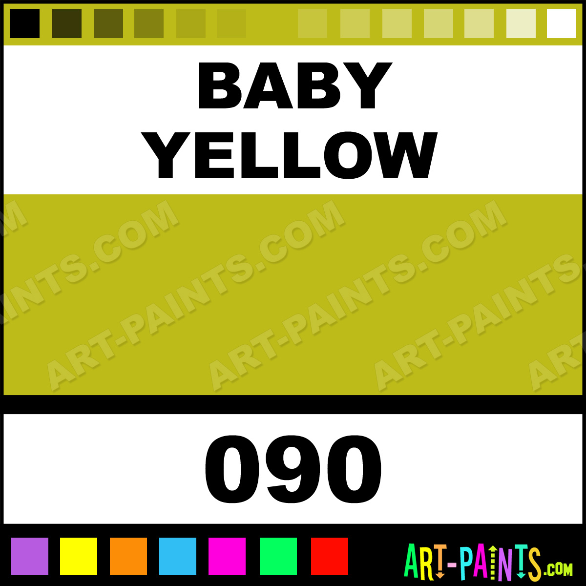 Baby Yellow Dual Brush Pens Paintmarker Paints And Marking