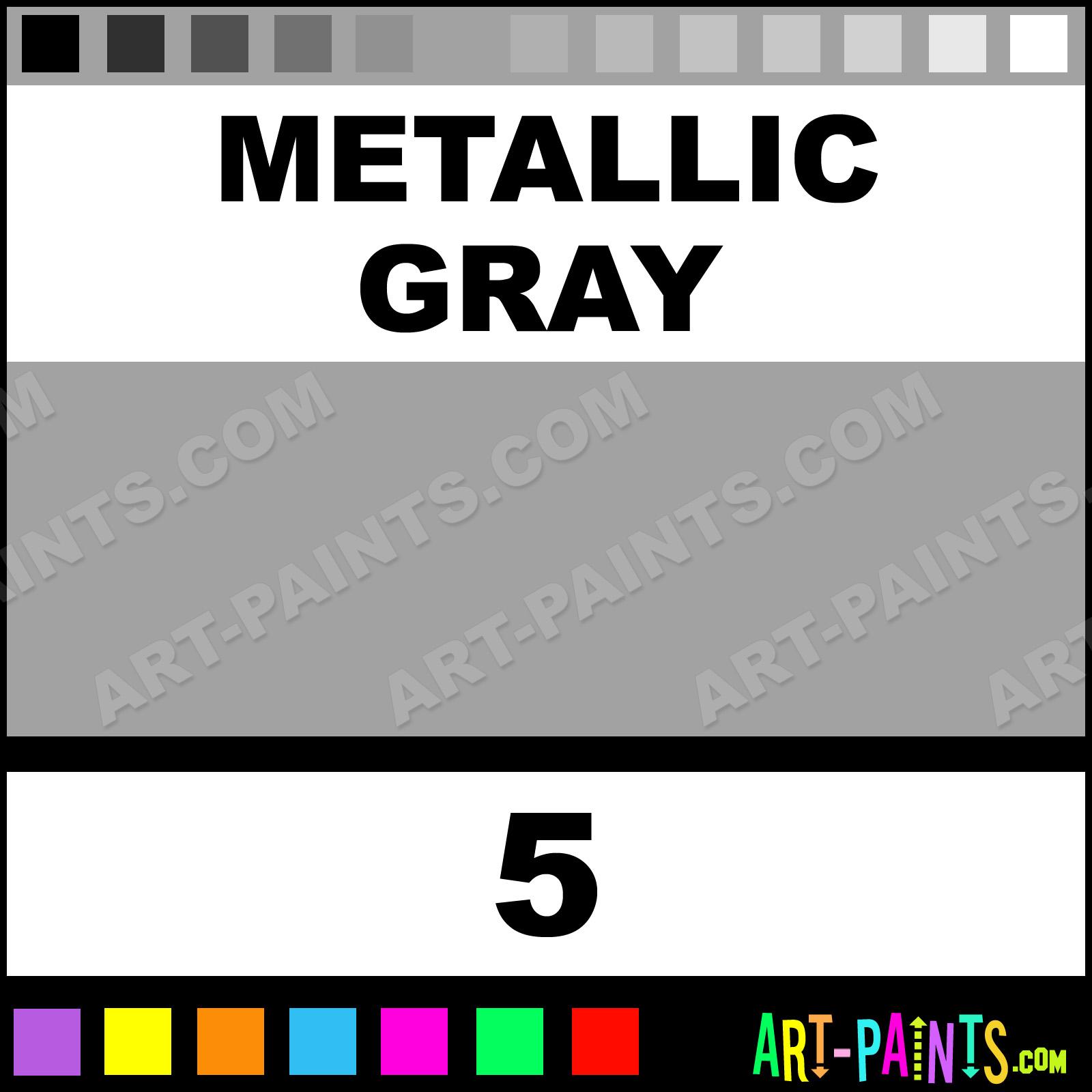 Metallic Gray Paint