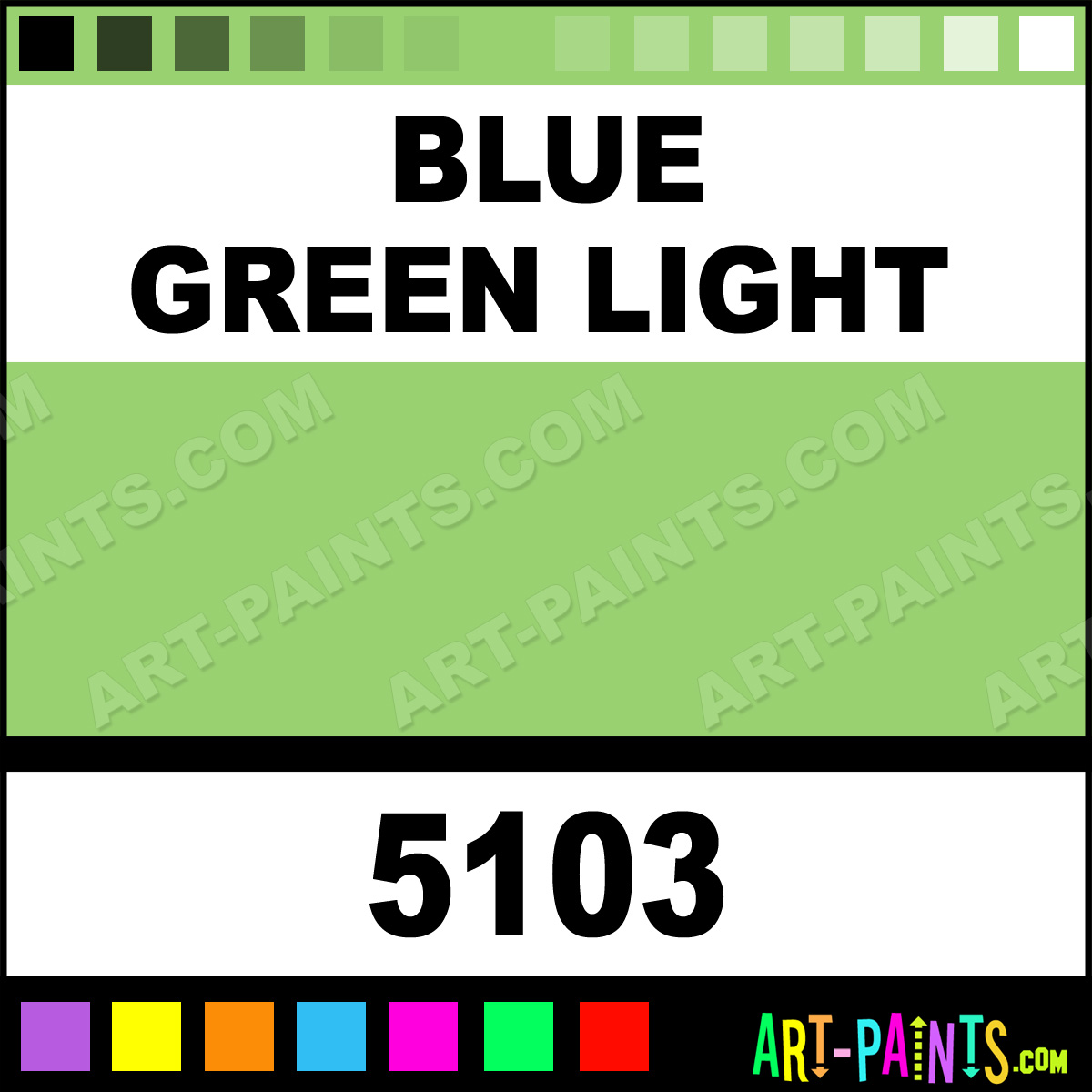Blue Green Light Matte Metal And Metallic Paints 5103 Blue Green Light Paint Blue Green