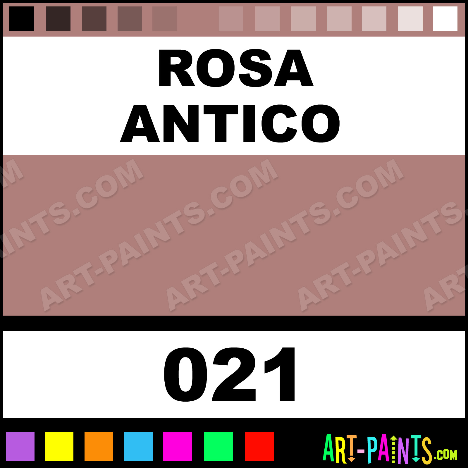 Rosa antico metallic metal paints and metallic paints for Rose color rosa antico