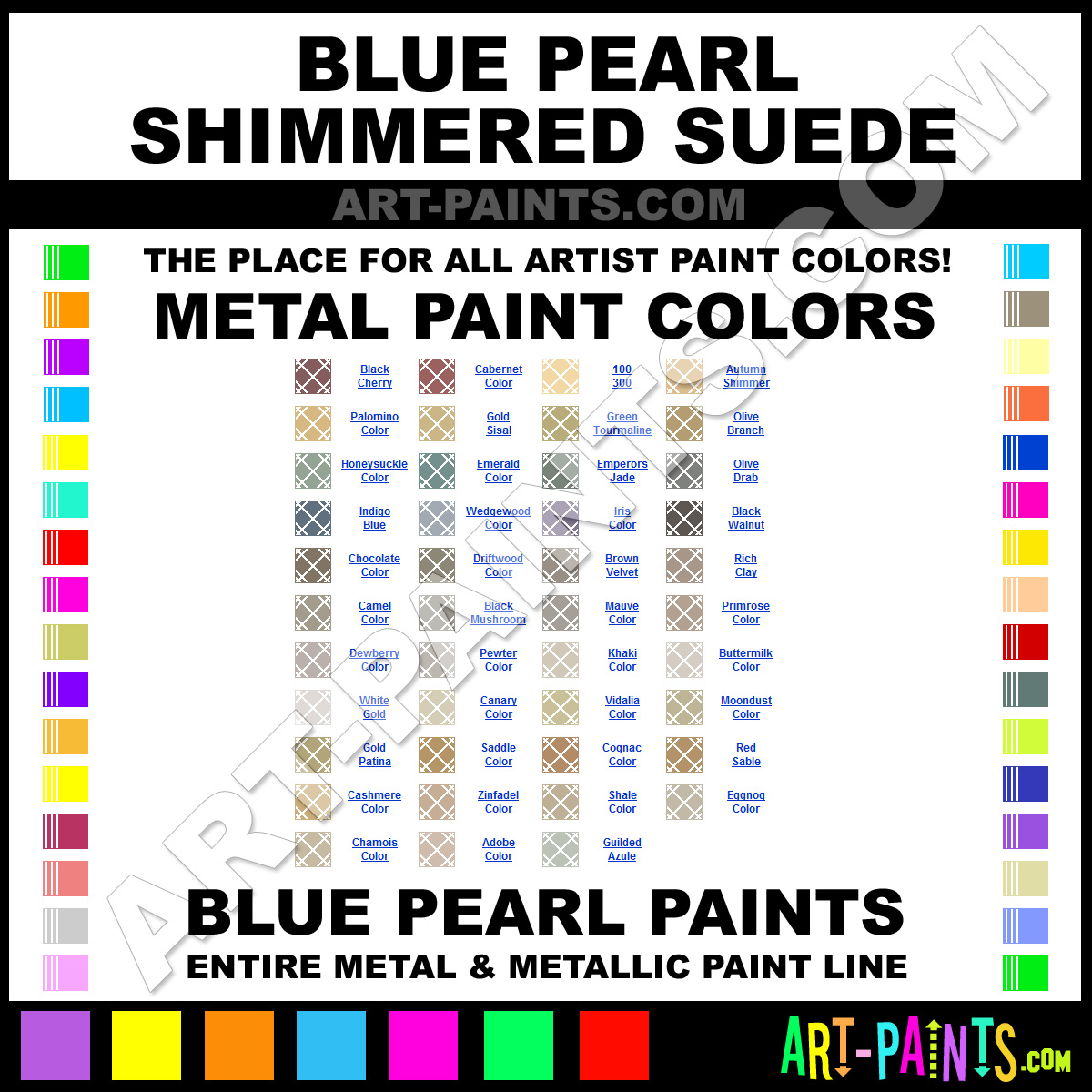 Blue Pearl Paint Blue Pearl Shimmered