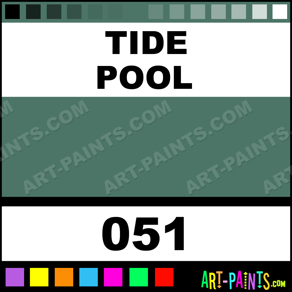 Tide Pool Silk Soft Metal Paints And Metallic Paints 051