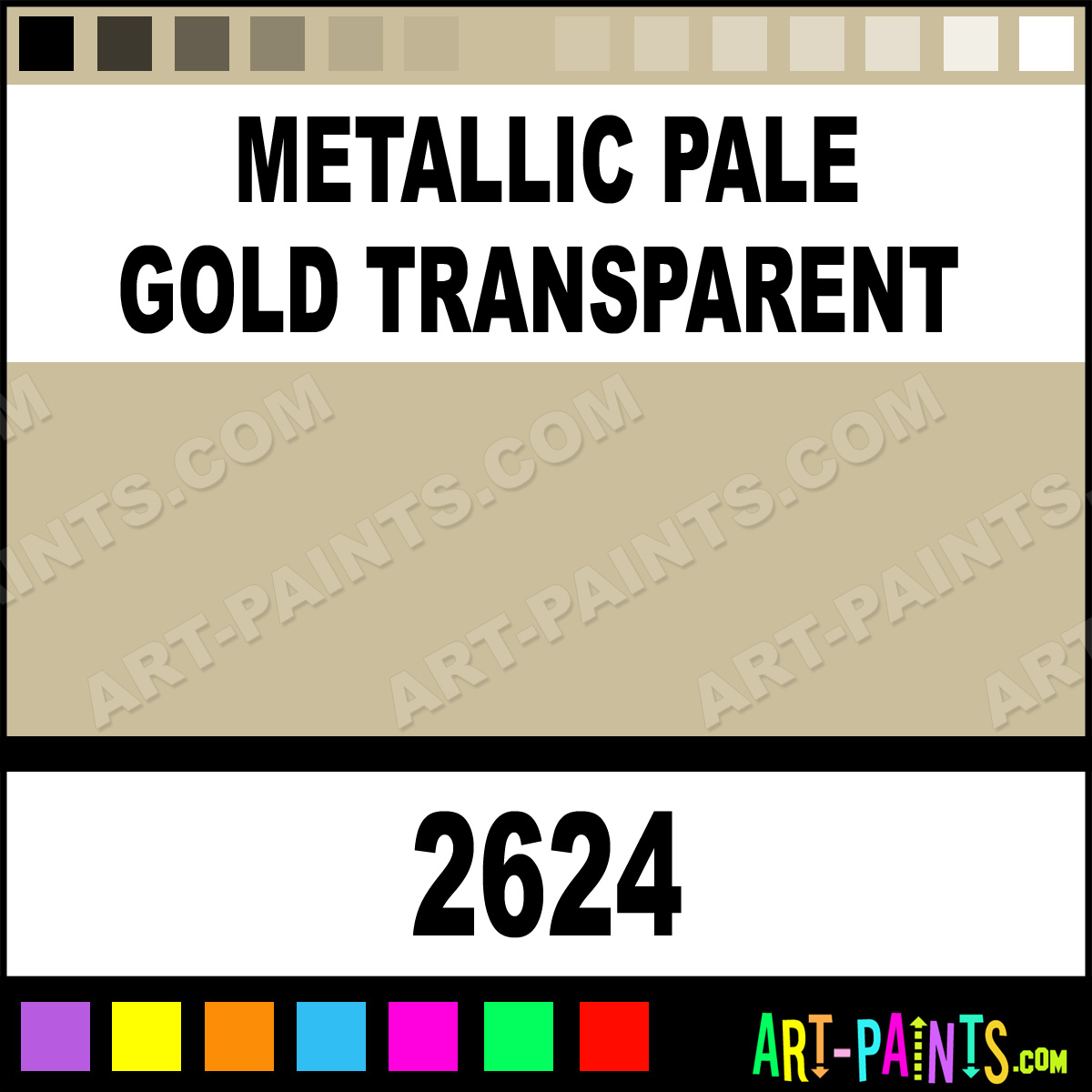 Gold Paint For Metal Metallic Pale Gold Transparent