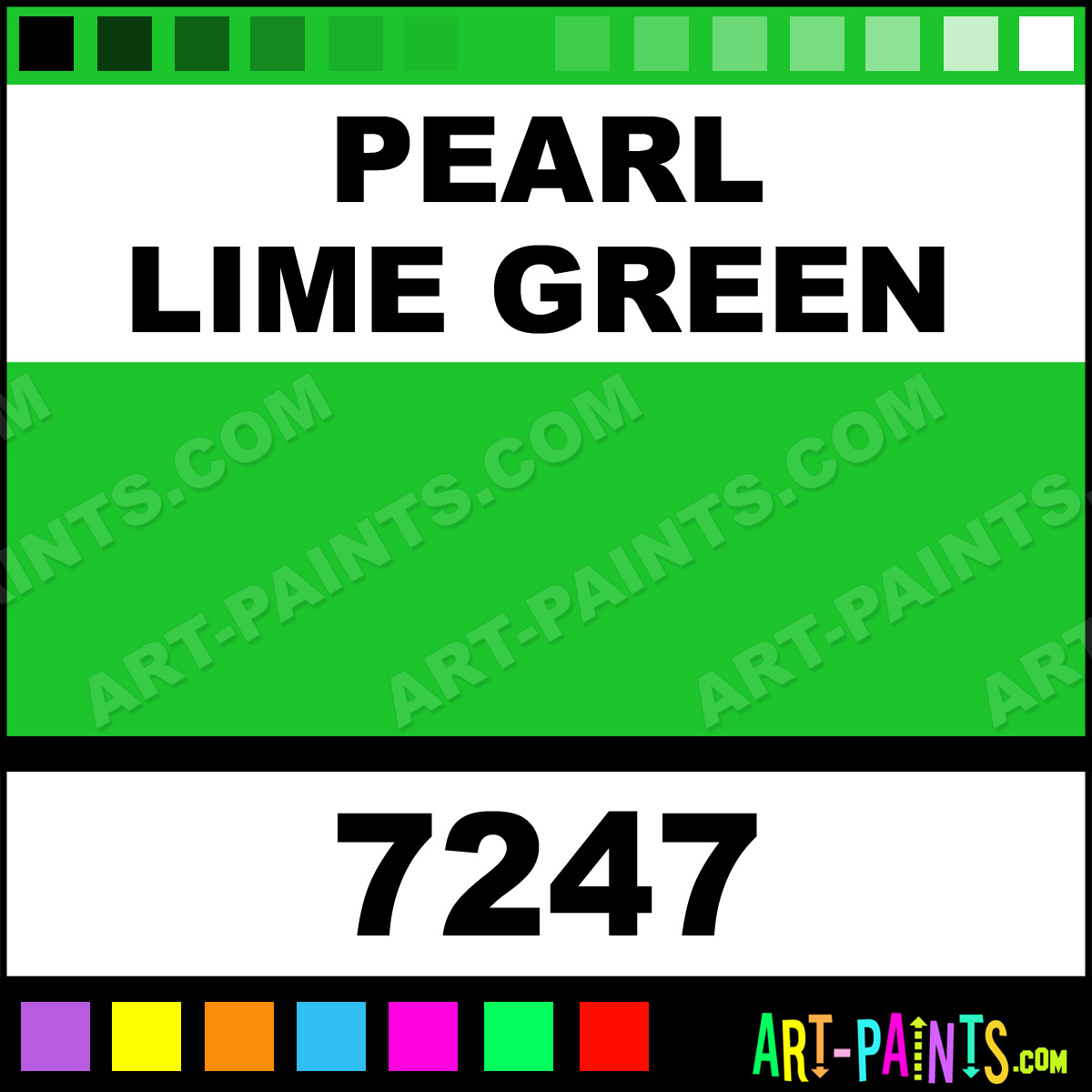 Lime green paint colors - Pearl Lime Green Paint
