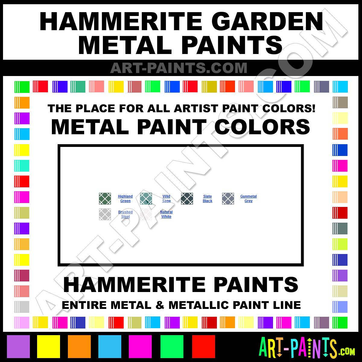 Gunmetal Grey Garden Metal Metal Paints And Metallic