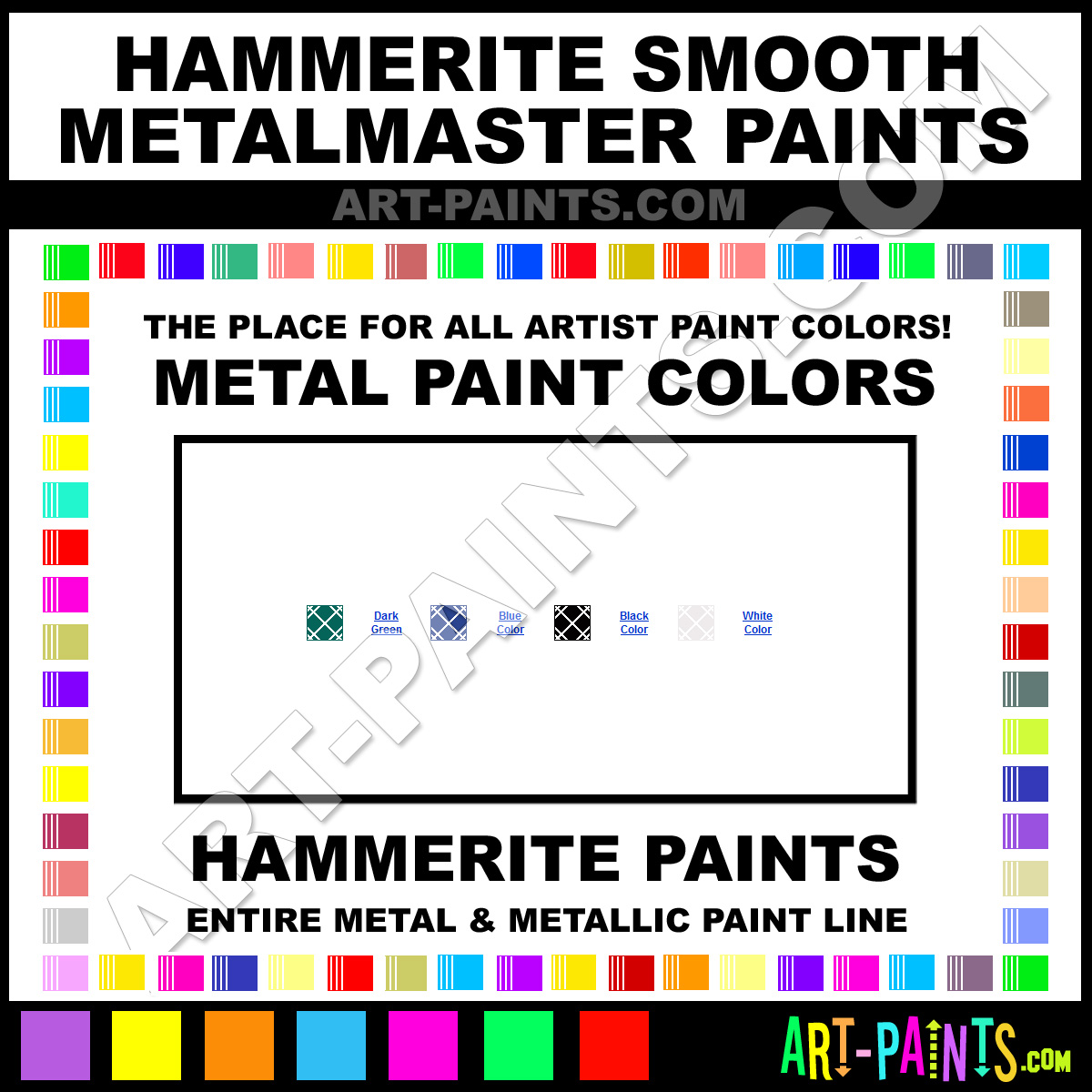 Hammered Paint Colors