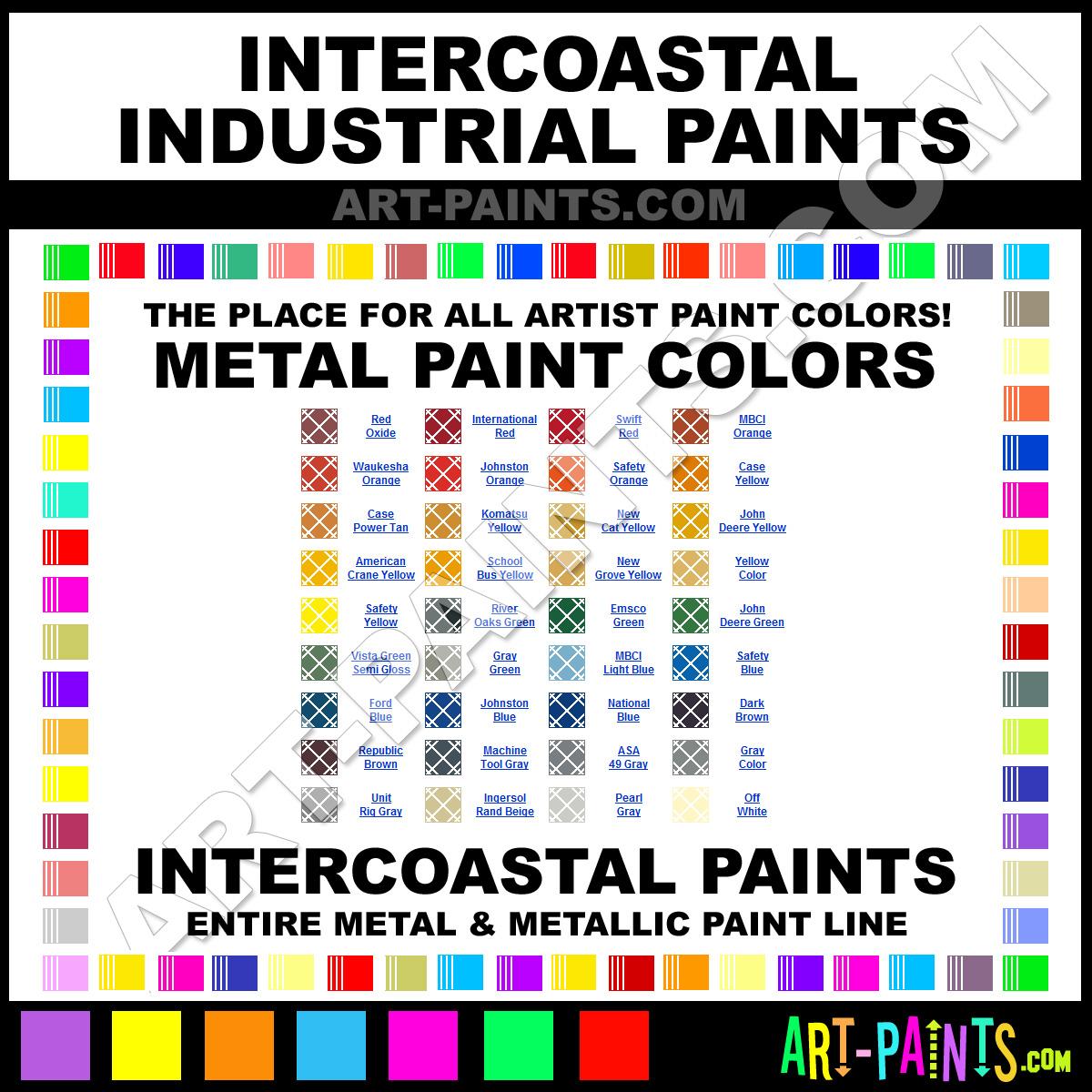 John Deere Yellow Industrial Metal And Metallic Paints