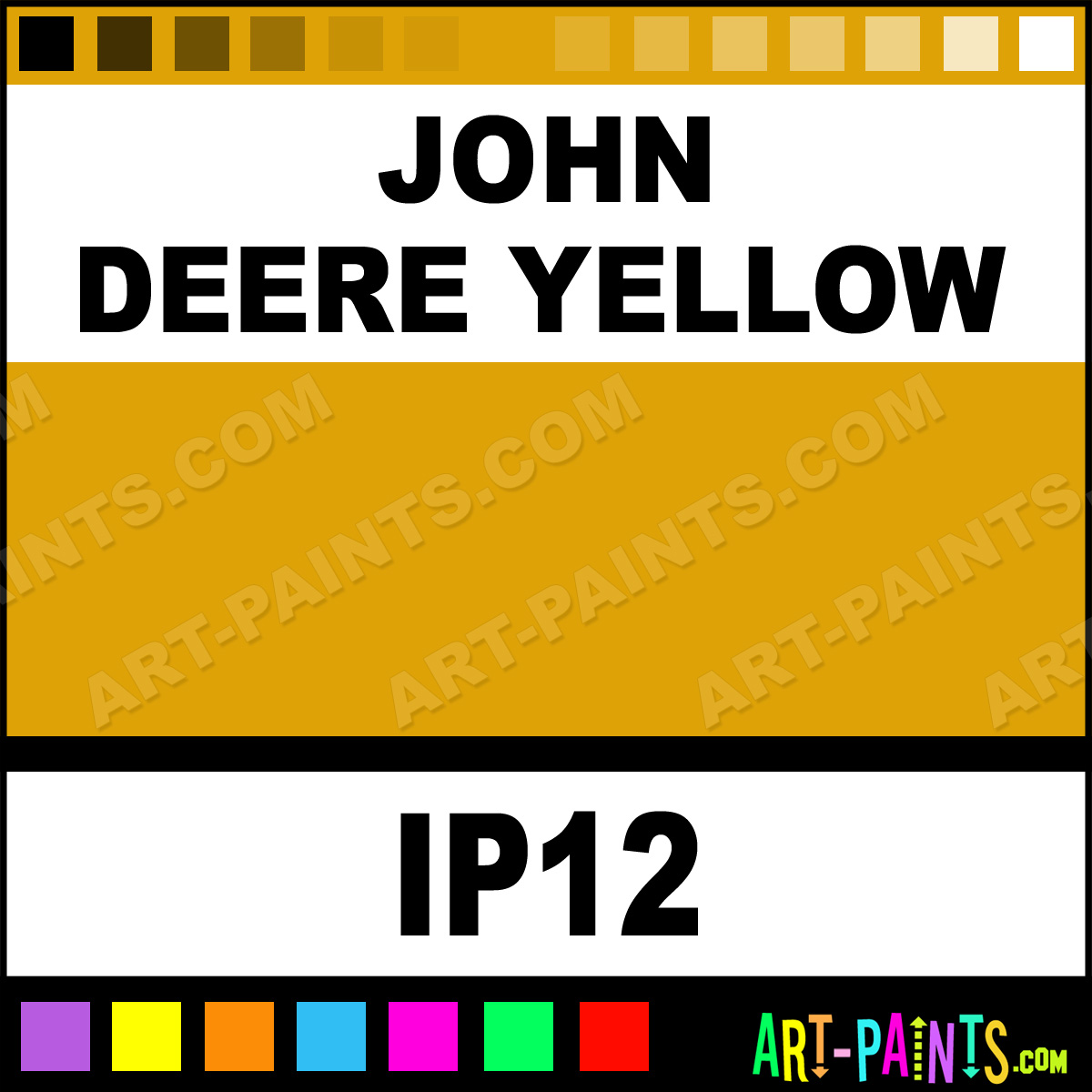 John Deere Room Paint Colors http://www.art-paints.com/Paints/Metal/Intercoastal/John-Deere-Yellow/John-Deere-Yellow.html