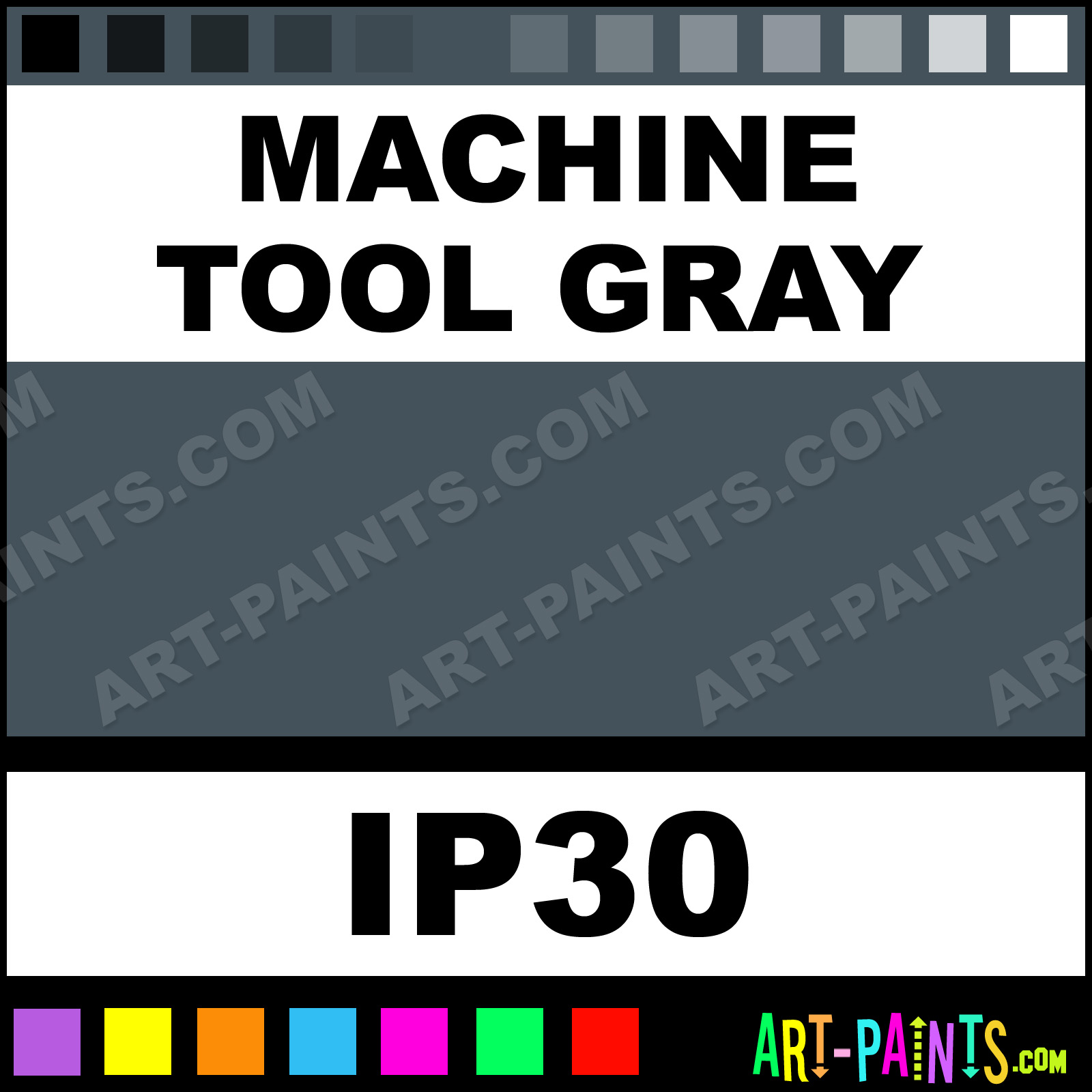 machine paint colors