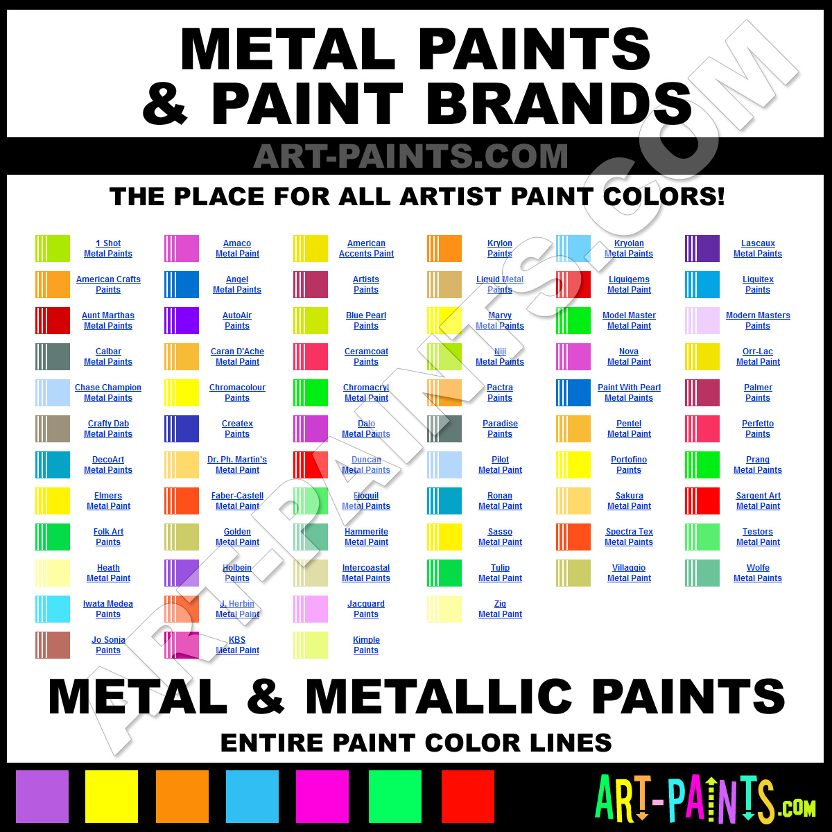 Metal metallic art paints metal metallic paint for How to make metallic paint