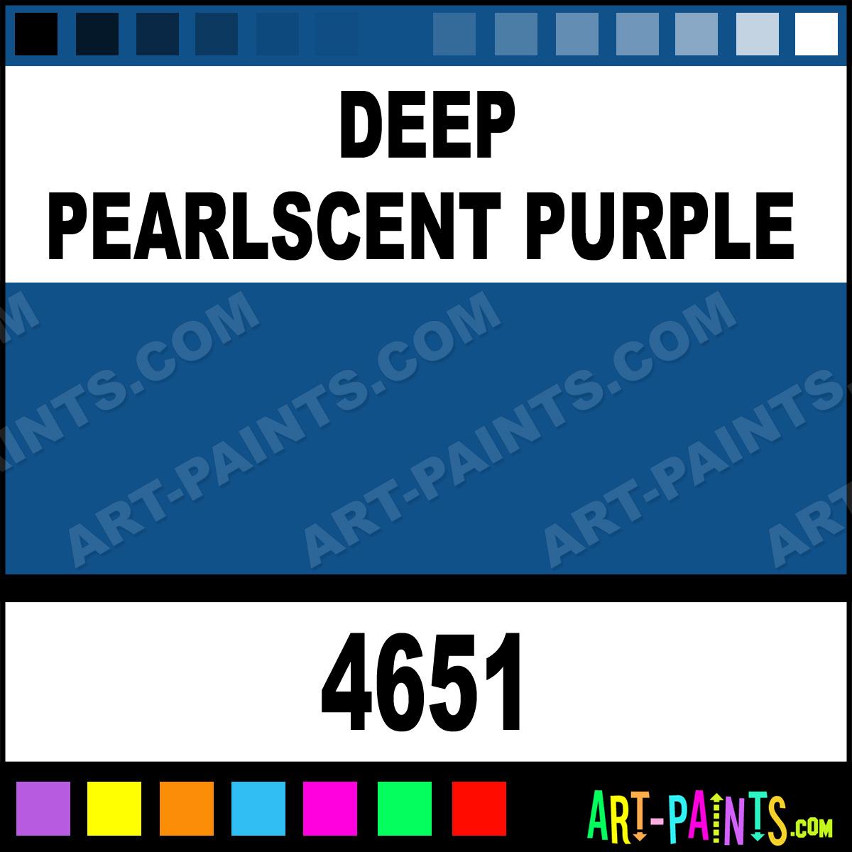 Deep Pearlscent Purple Artist Metal