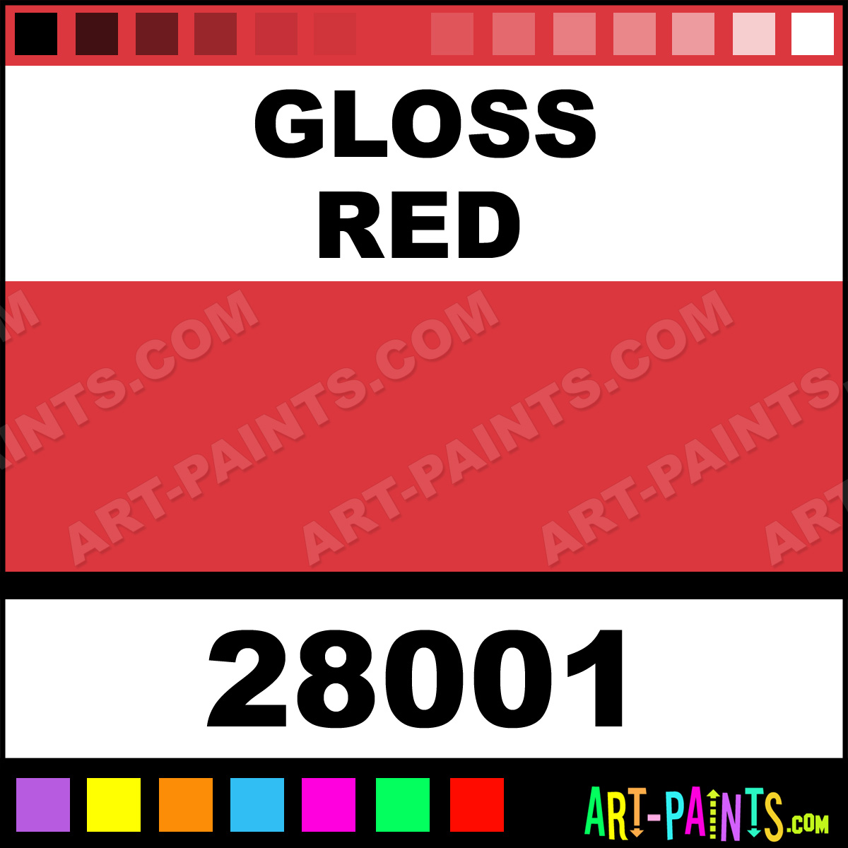 Gloss Red Testors Metal Paints And Metallic Paints 28001