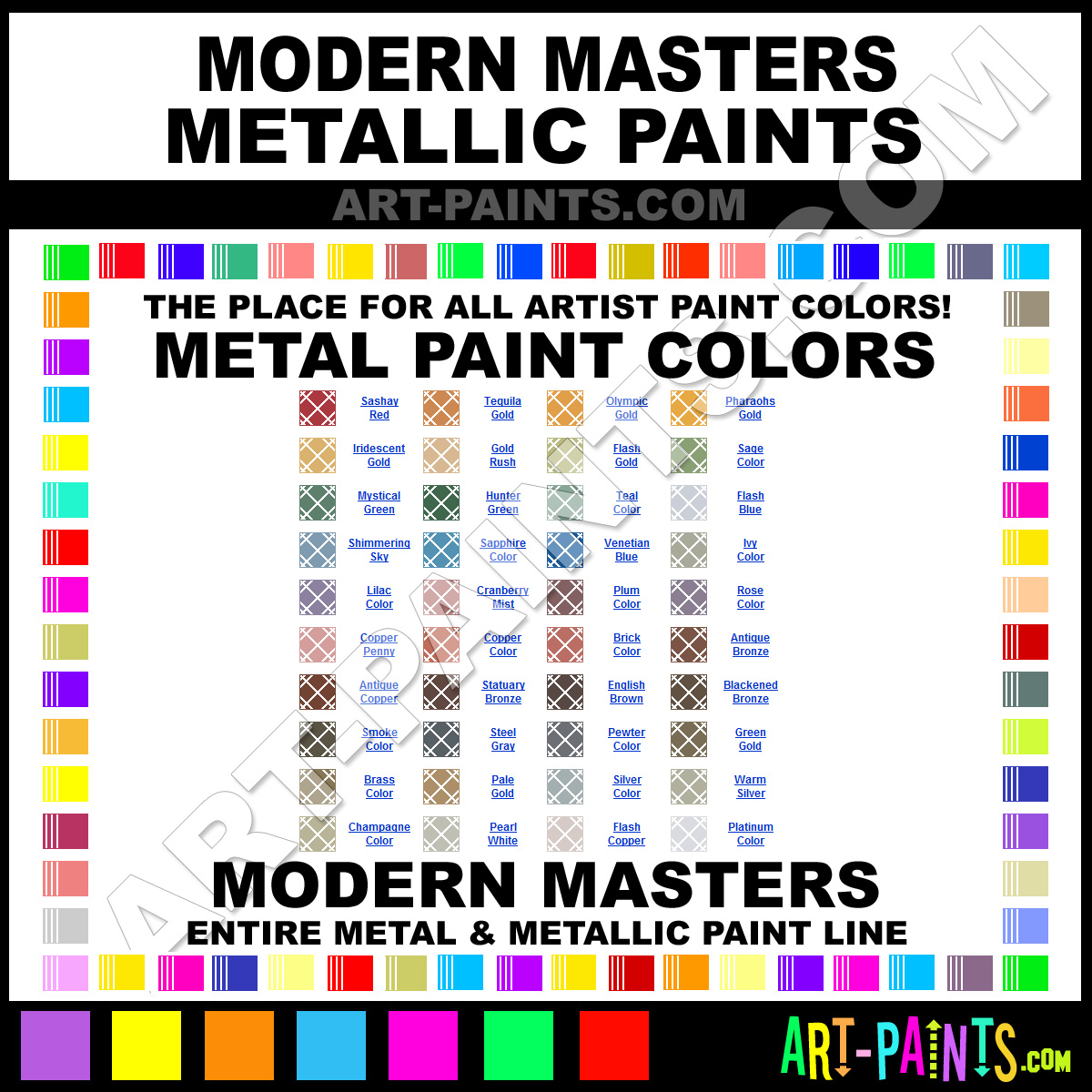 Walmart Reactive Metal Paint Crafts