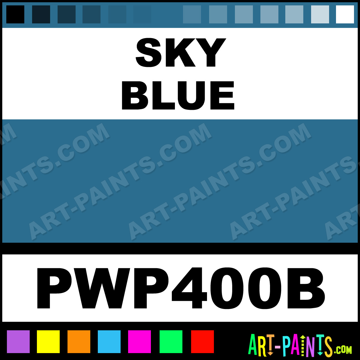 sky blue candy metal paints and metallic paints pwp400b. Black Bedroom Furniture Sets. Home Design Ideas