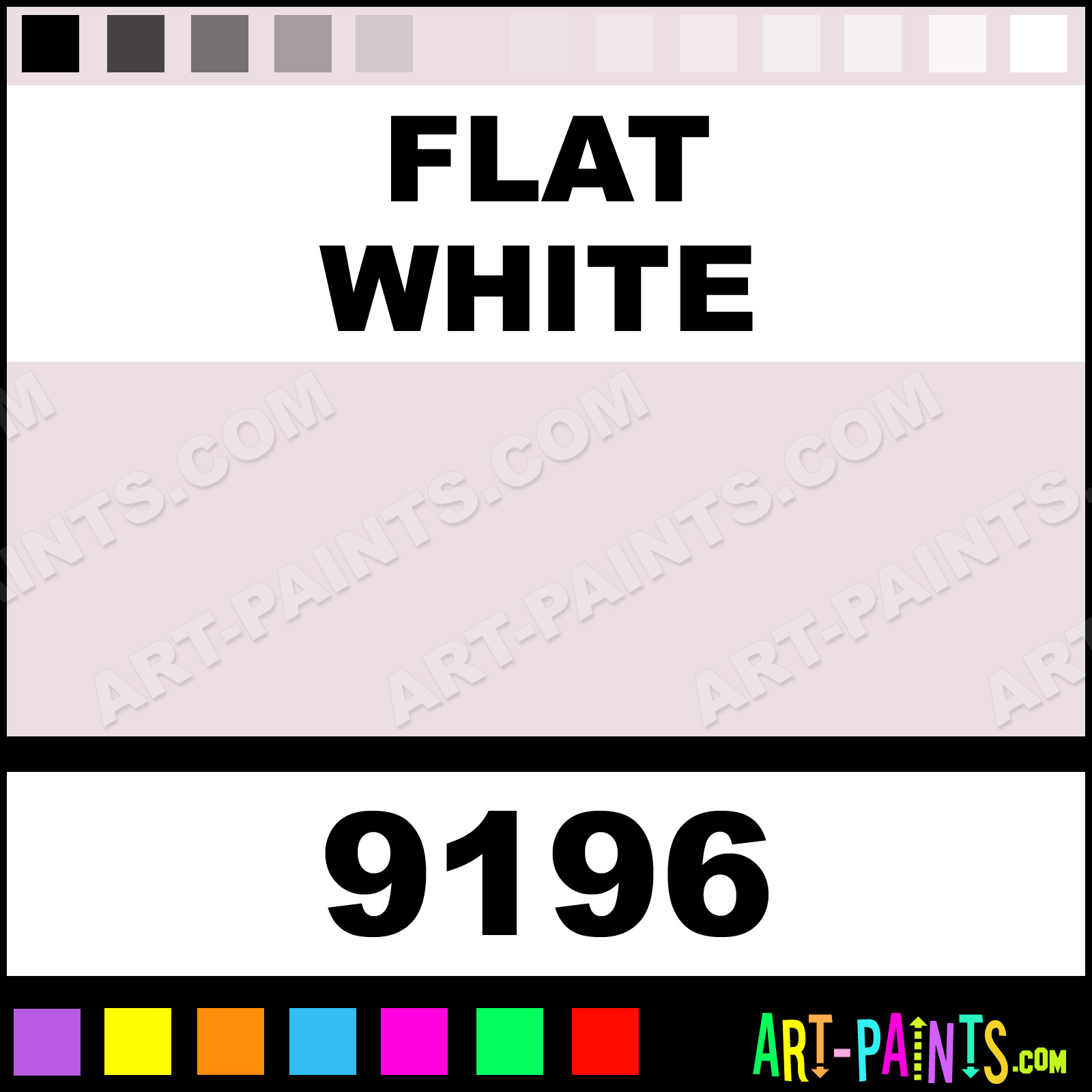 Flat White Paint