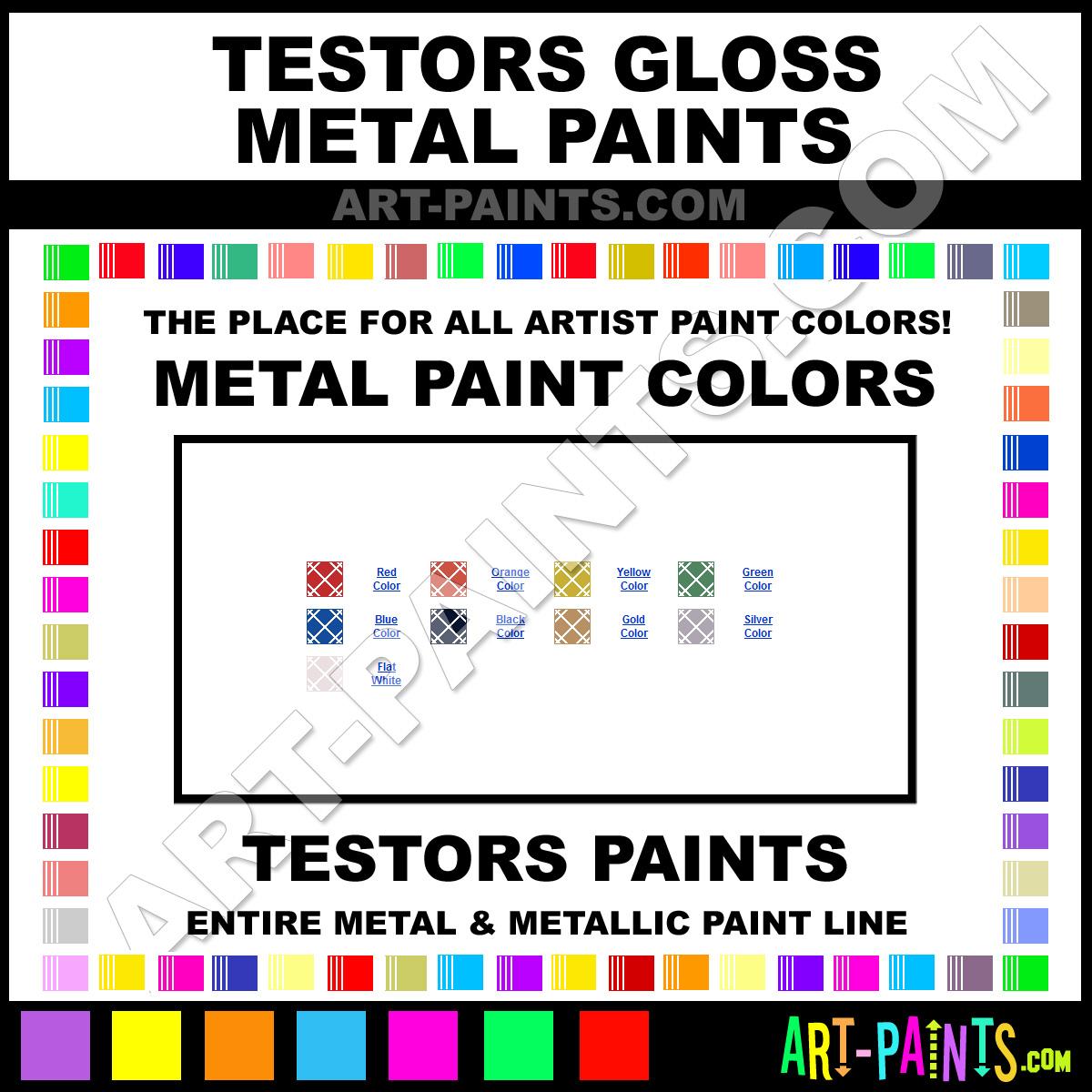 Testors Paint Colour Chart Paint Color Ideas